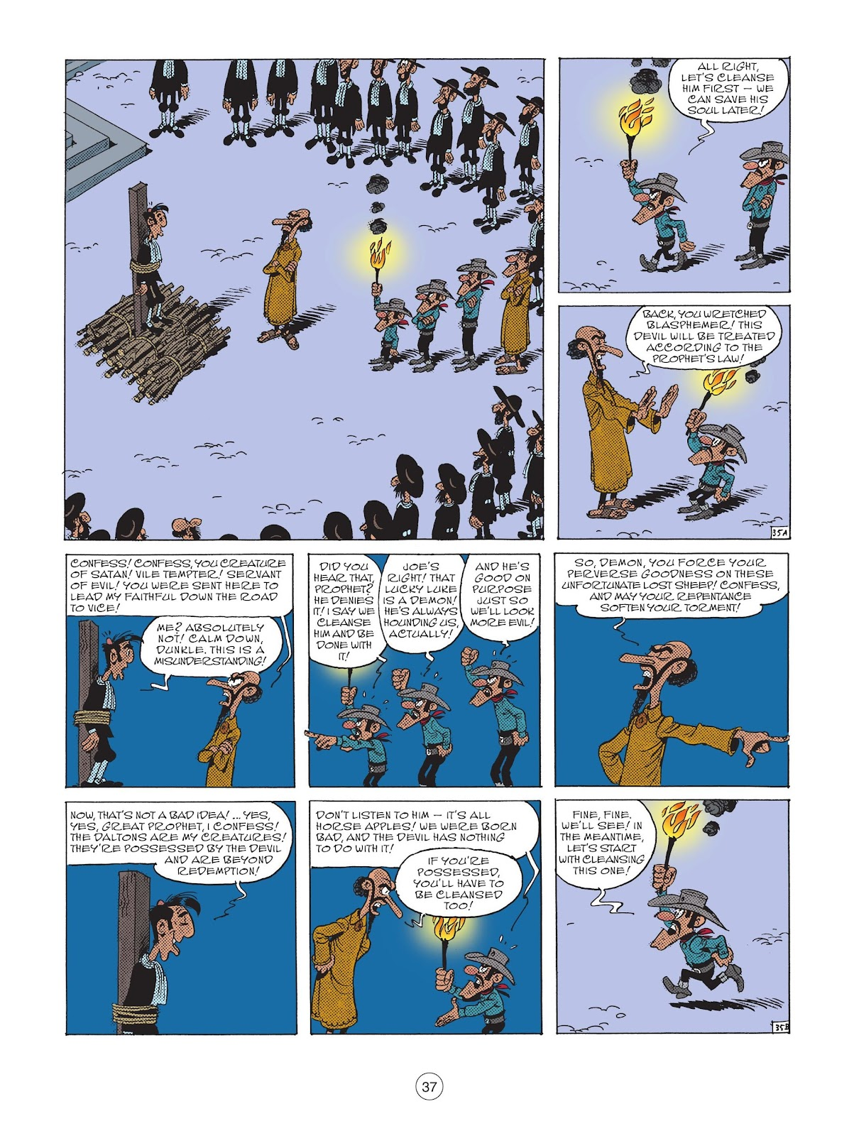 A Lucky Luke Adventure issue 73 - Page 39