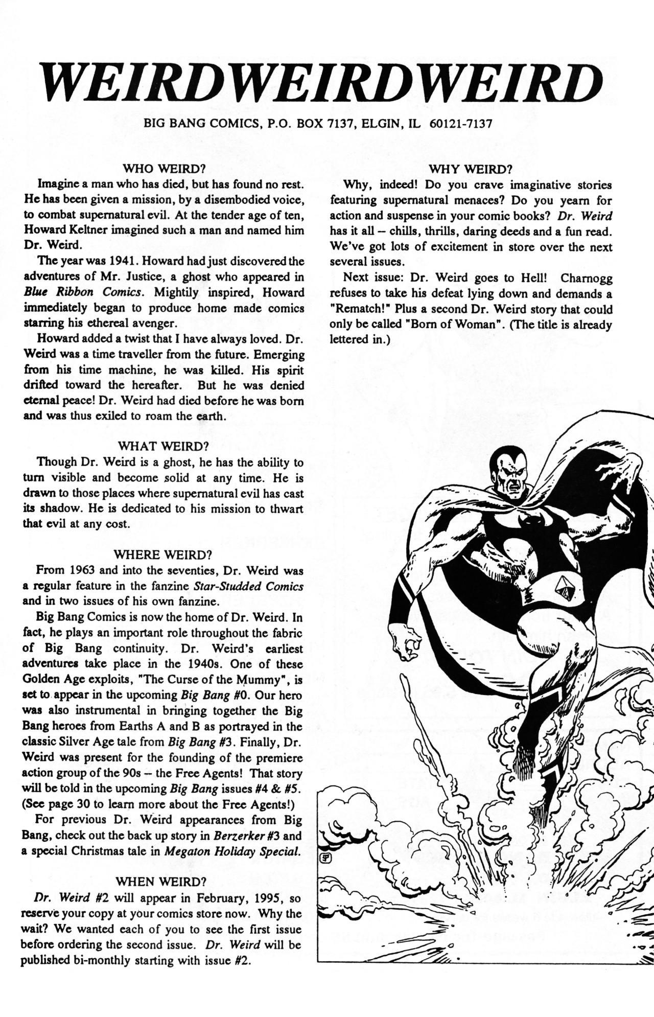 Read online Dr. Weird (1994) comic -  Issue #1 - 27