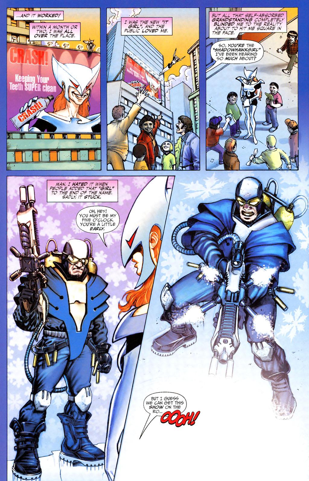 Read online ShadowHawk (2005) comic -  Issue #13 - 21
