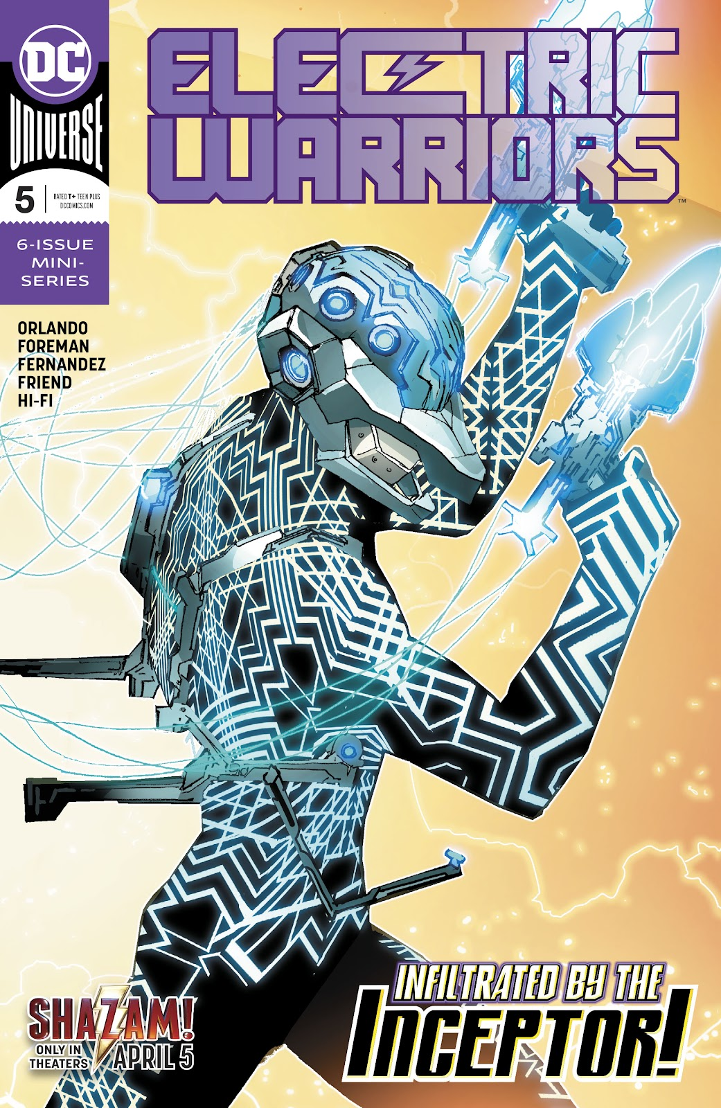 Read online Electric Warriors comic -  Issue #5 - 1