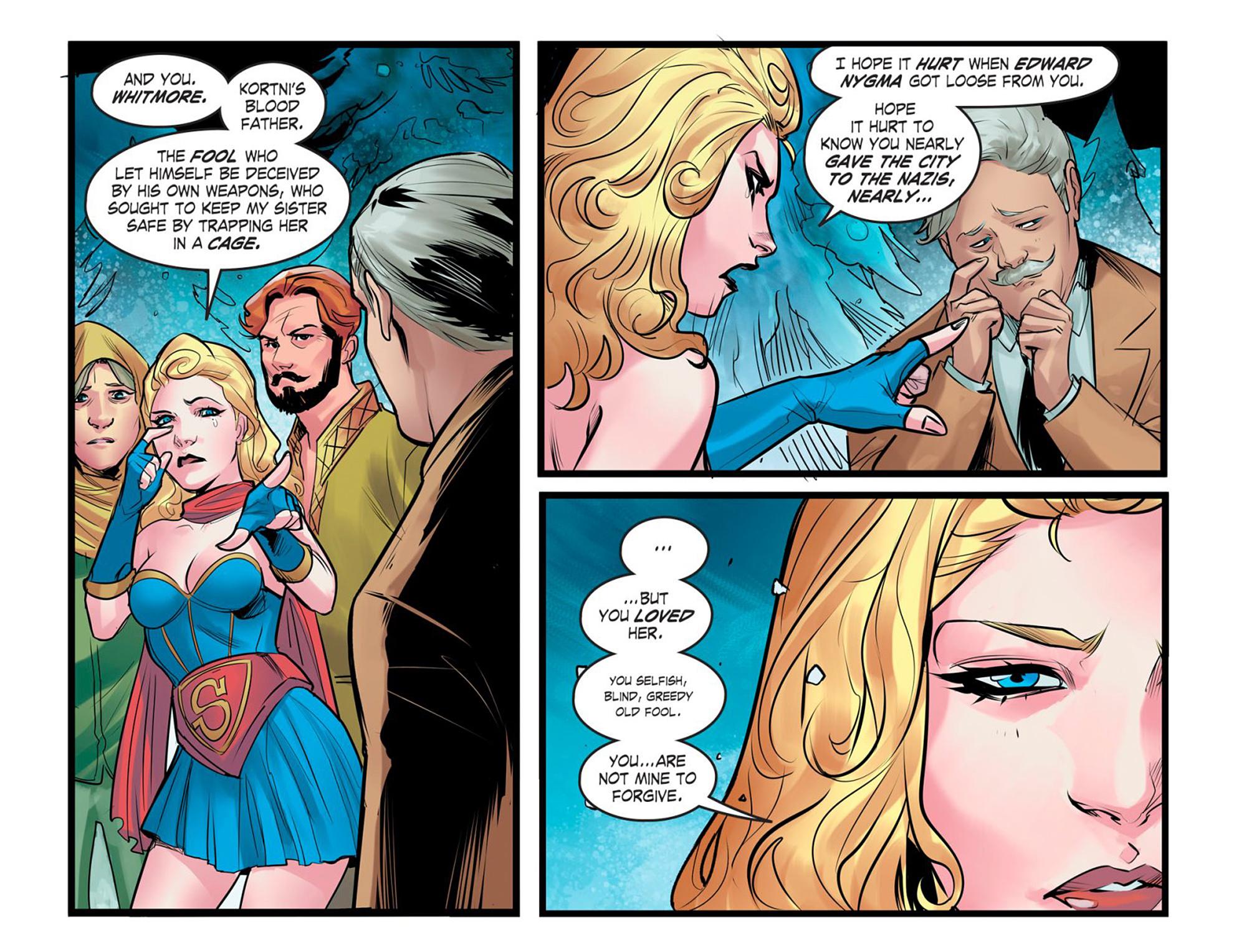 Read online DC Comics: Bombshells comic -  Issue #95 - 10