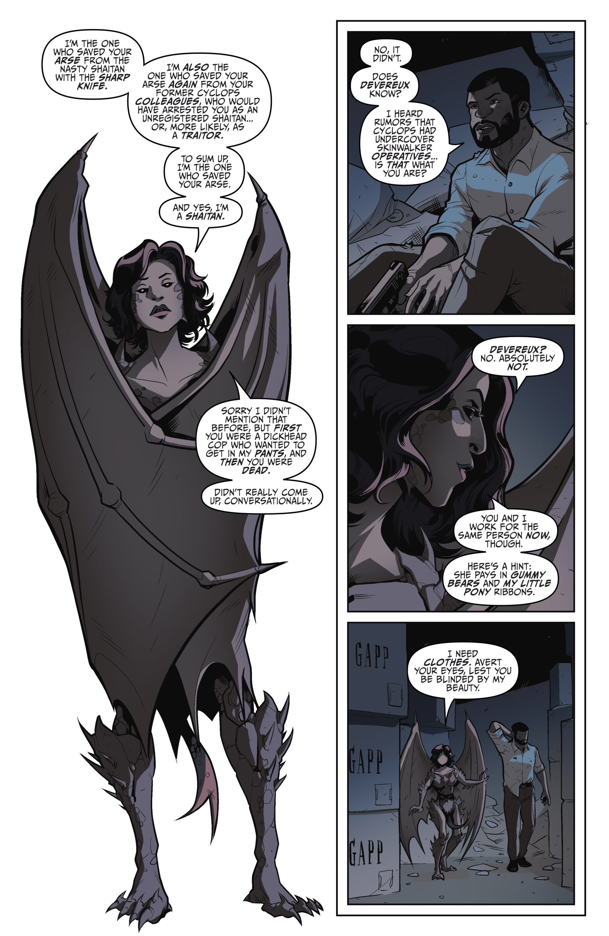 Read online Darkness Visible comic -  Issue #5 - 7