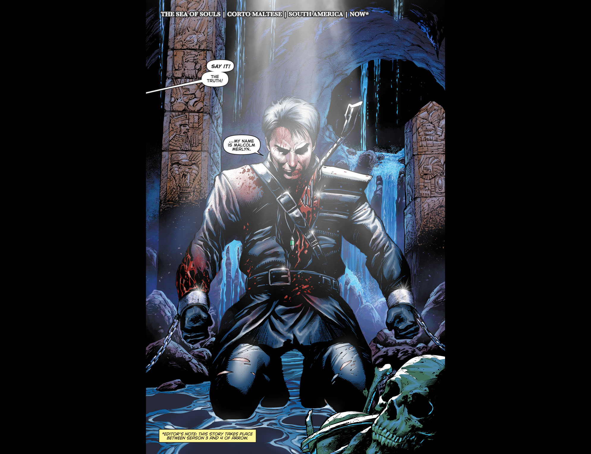 Read online Arrow: The Dark Archer comic -  Issue #1 - 5