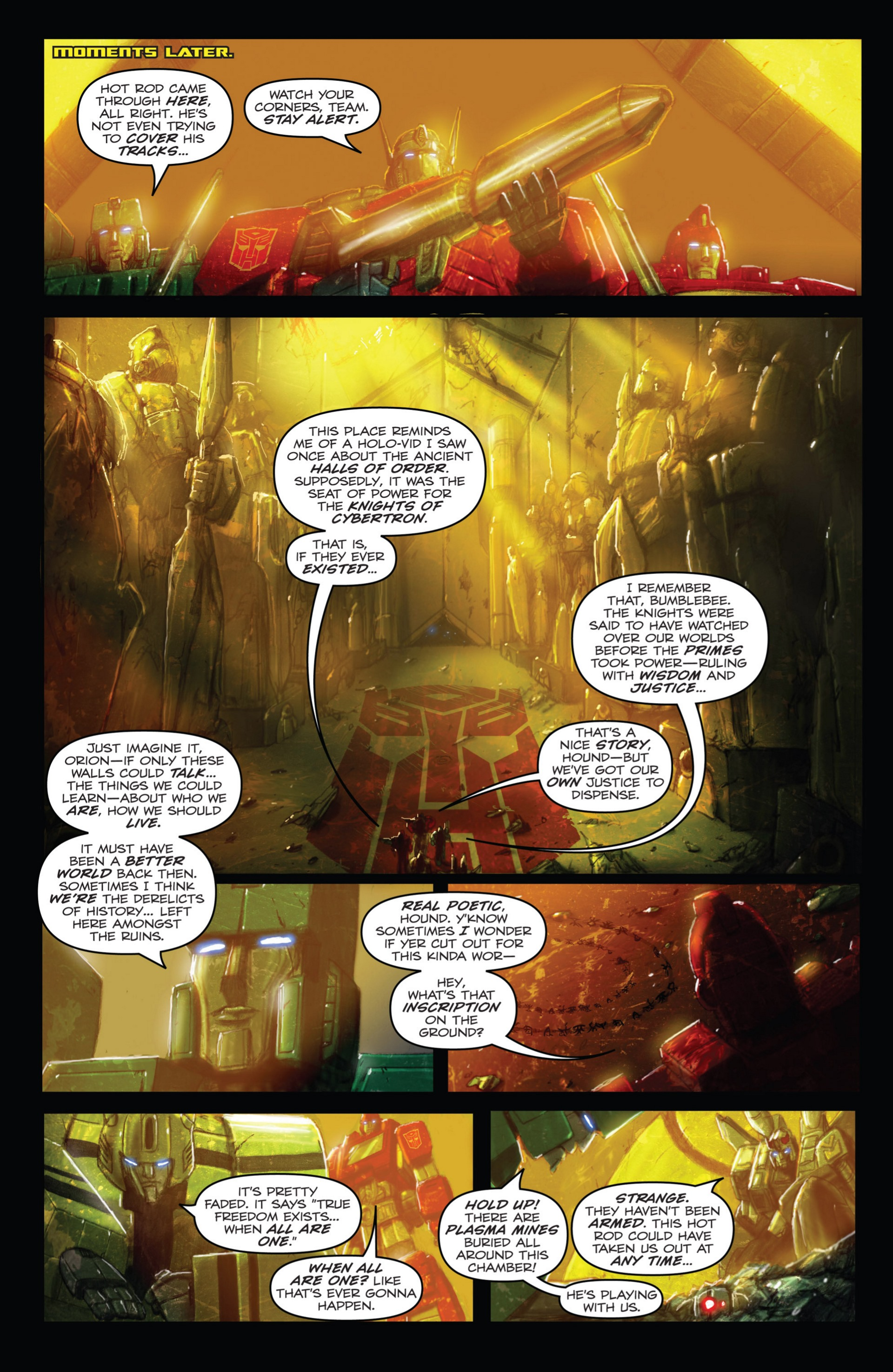 Read online Transformers: Autocracy comic -  Issue # Full - 46