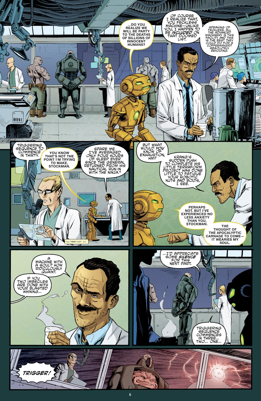 Read online Teenage Mutant Ninja Turtles: The IDW Collection comic -  Issue # TPB 5 (Part 3) - 65