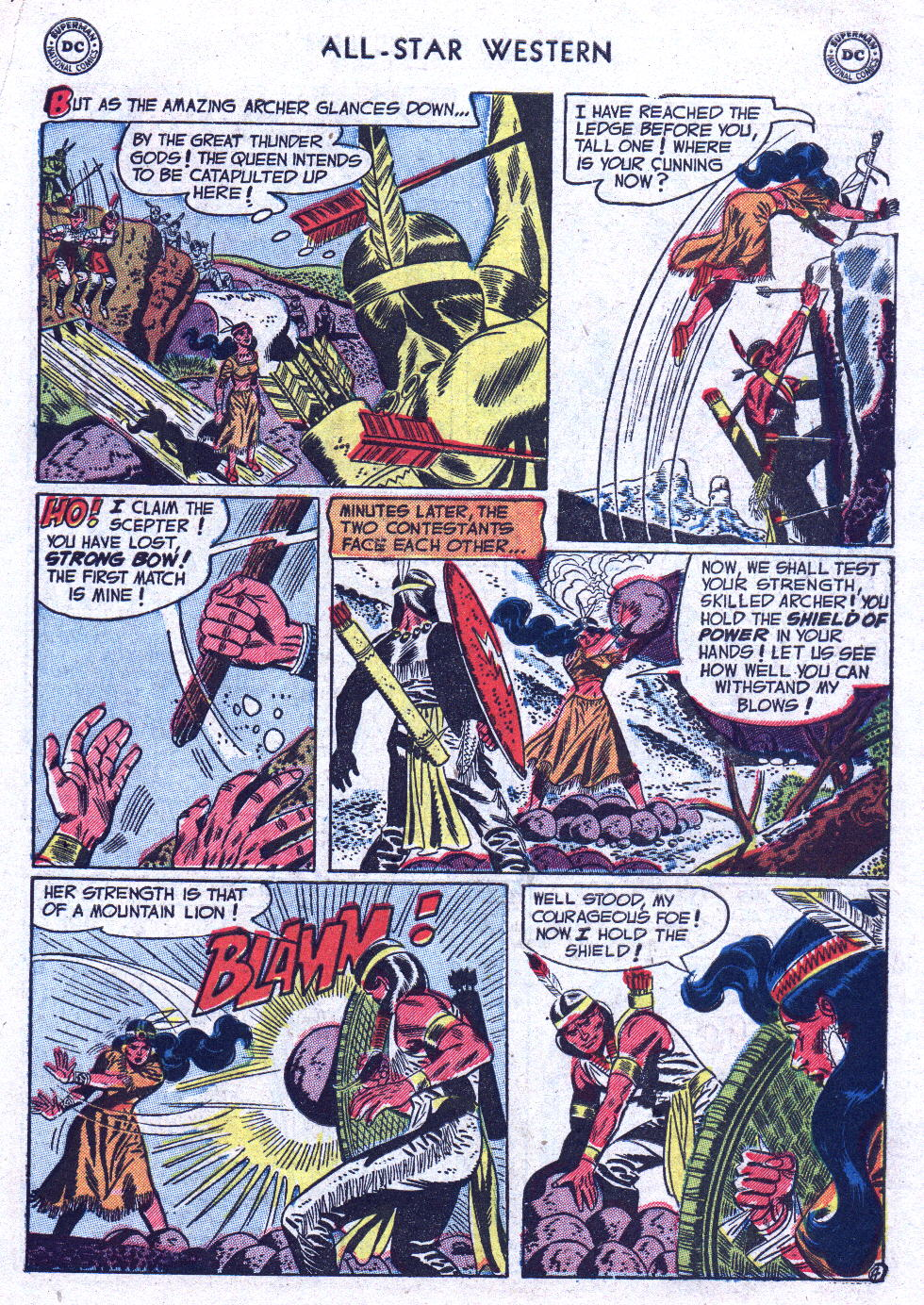 Read online All-Star Western (1951) comic -  Issue #71 - 31