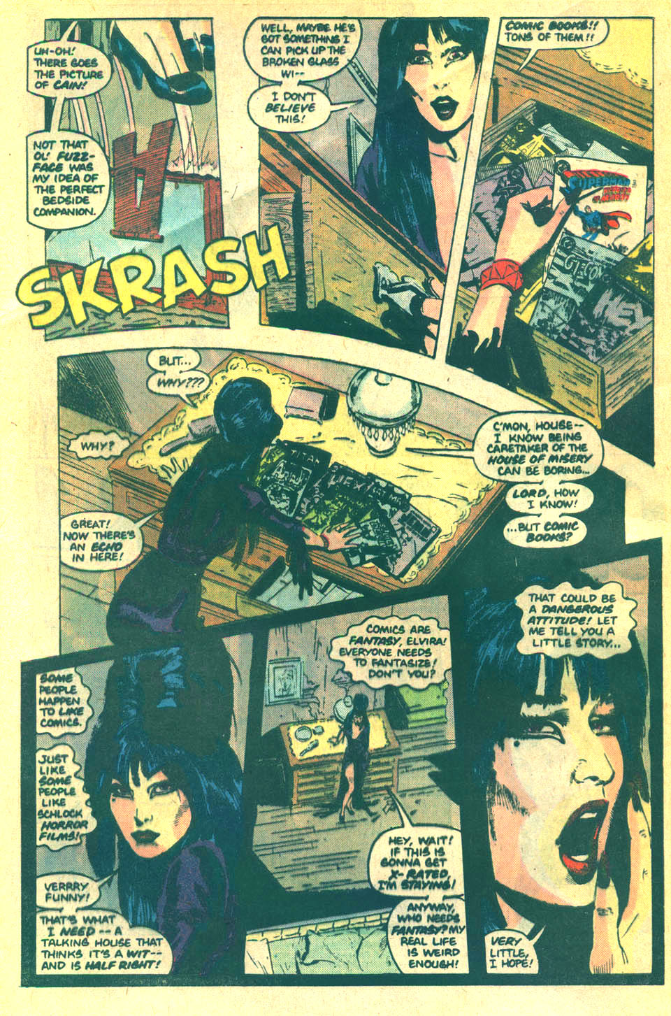 Elvira's House of Mystery Issue #5 #6 - English 3