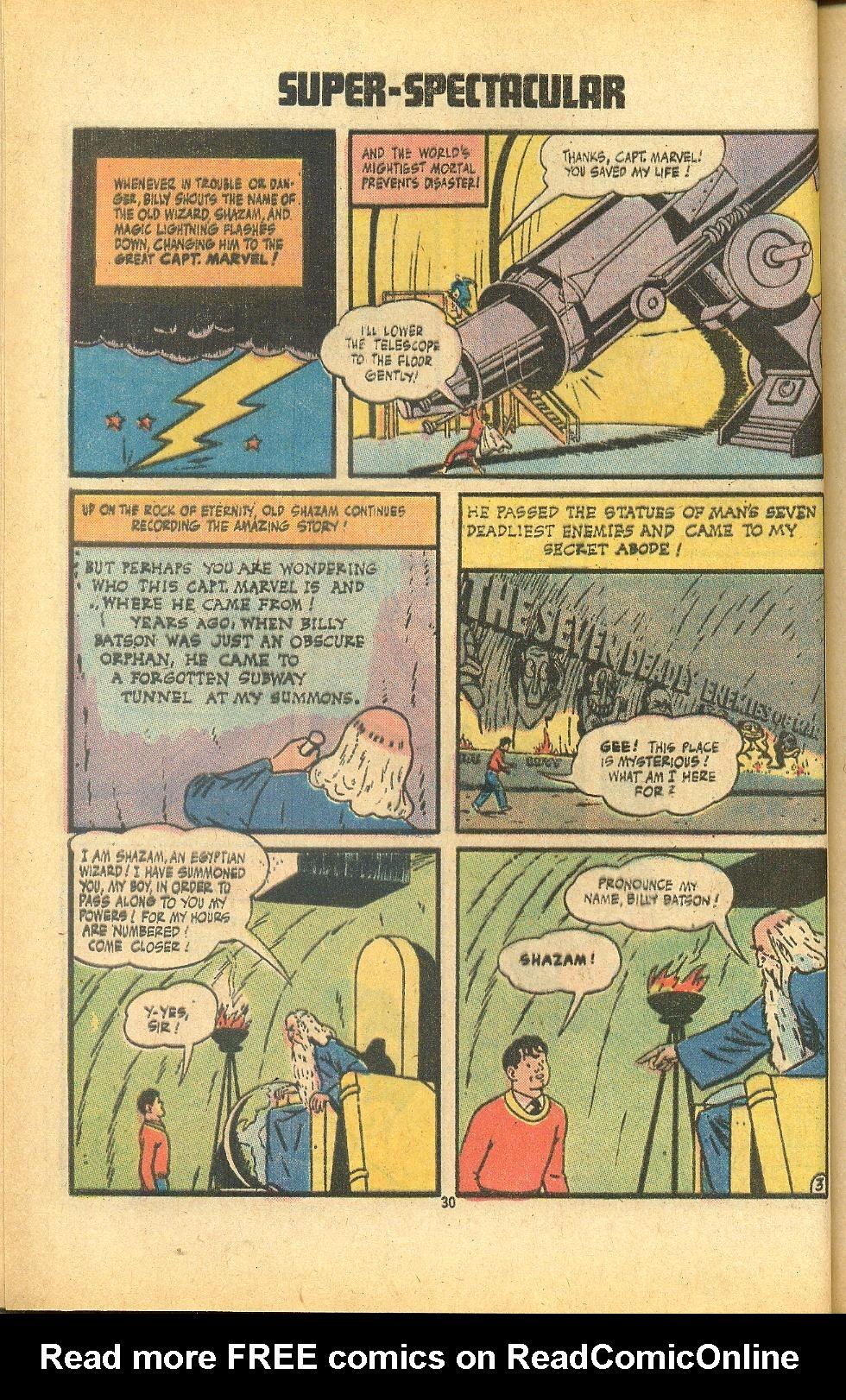 Read online Shazam! (1973) comic -  Issue #8 - 30