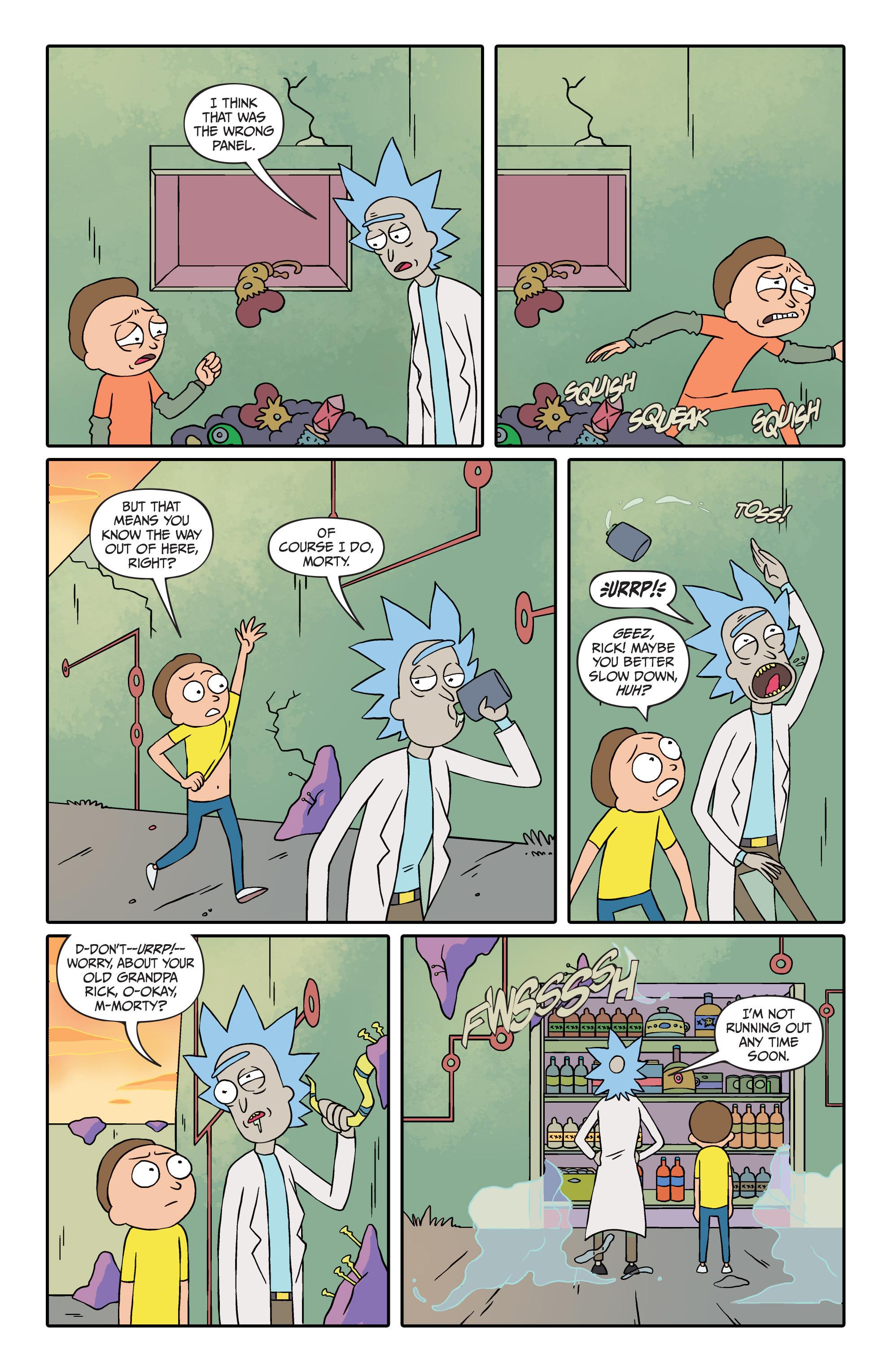 Rick And Morty Issue 2 | Read Rick And Morty Issue 2 comic