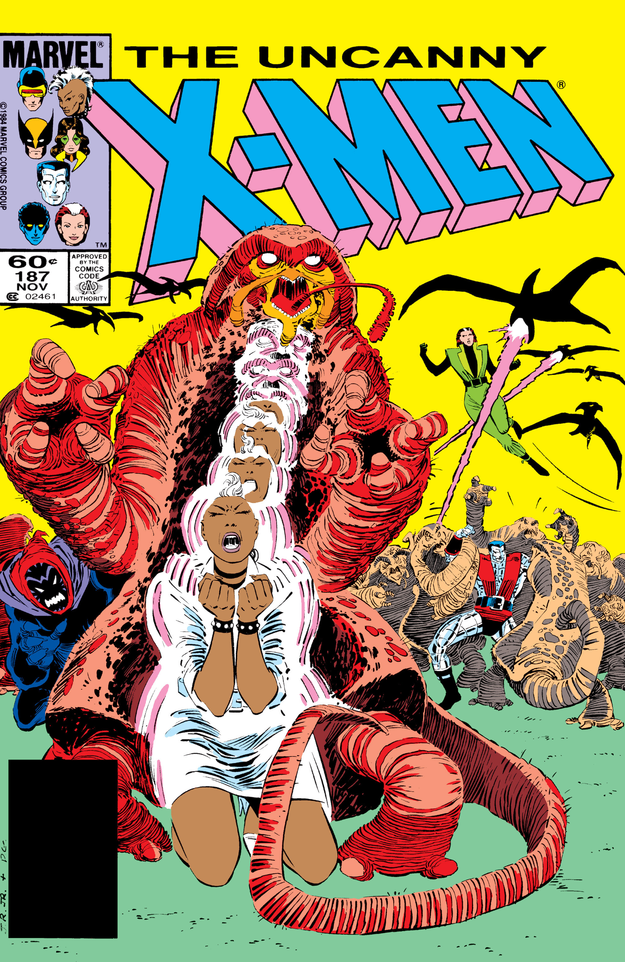 Read online Uncanny X-Men (1963) comic -  Issue #187 - 1