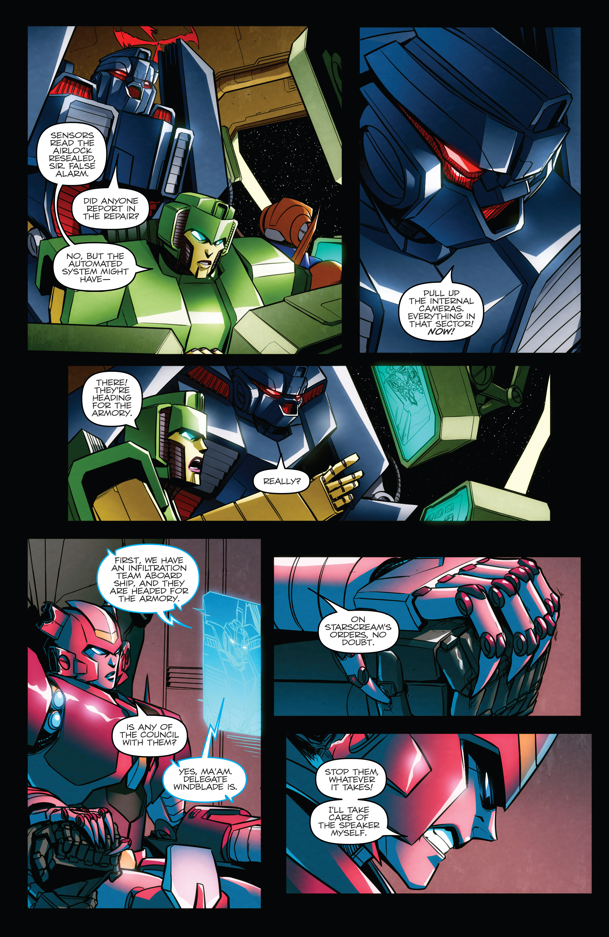 Read online Transformers: Till All Are One comic -  Issue #7 - 16