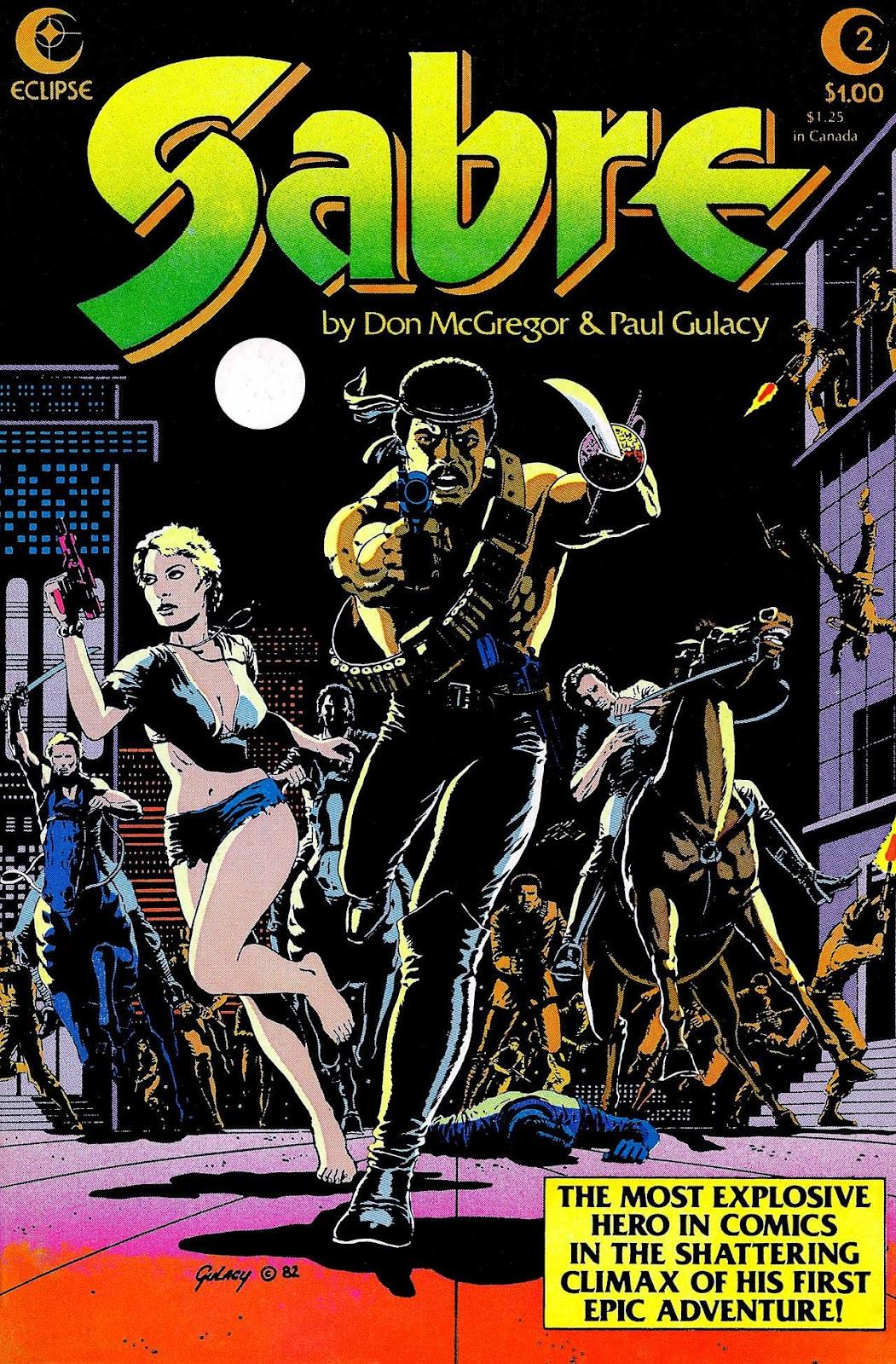 Sabre (1982) 2 Page 1