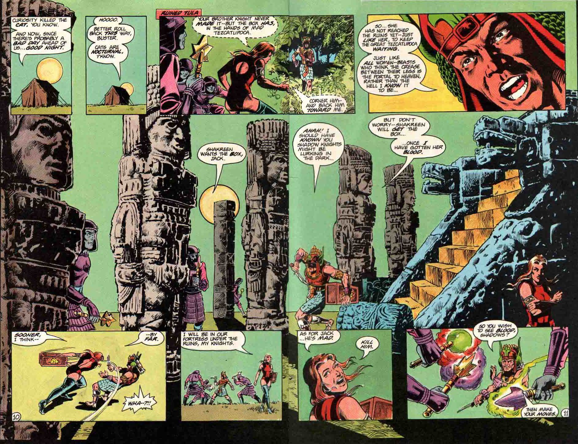 Read online Aztec Ace comic -  Issue #11 - 10