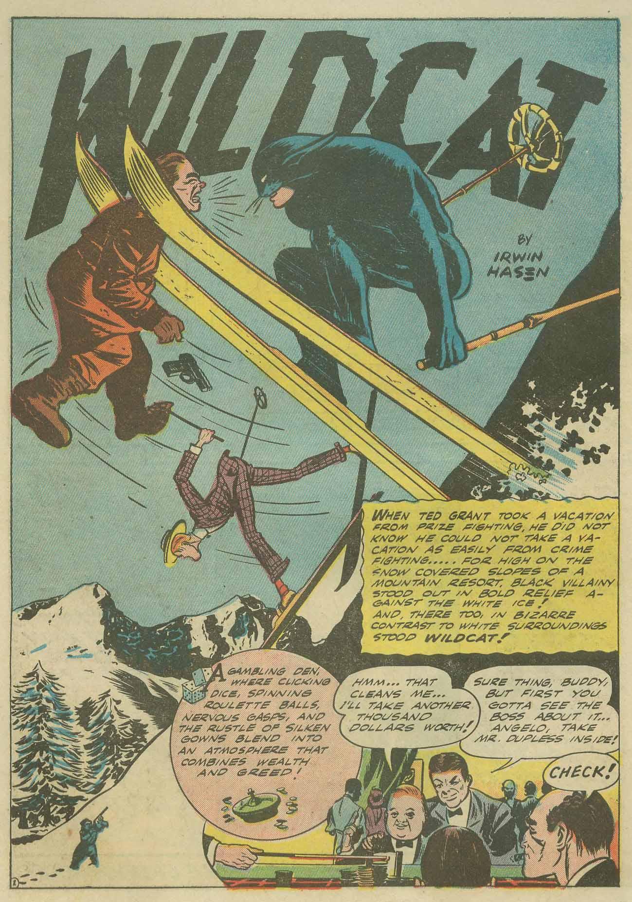 Read online Sensation (Mystery) Comics comic -  Issue #9 - 56