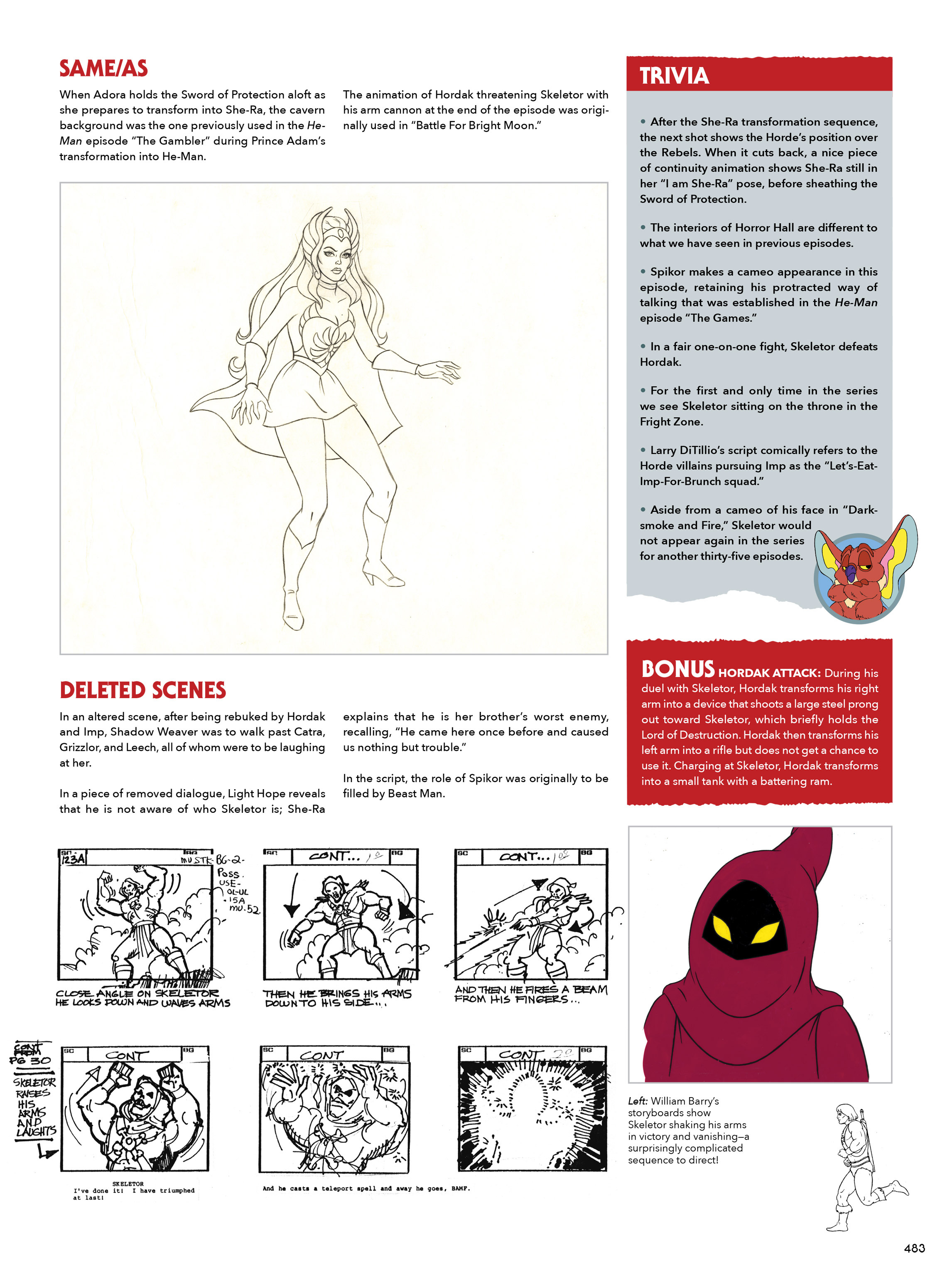 Read online He-Man and She-Ra: A Complete Guide to the Classic Animated Adventures comic -  Issue # TPB (Part 3) - 83