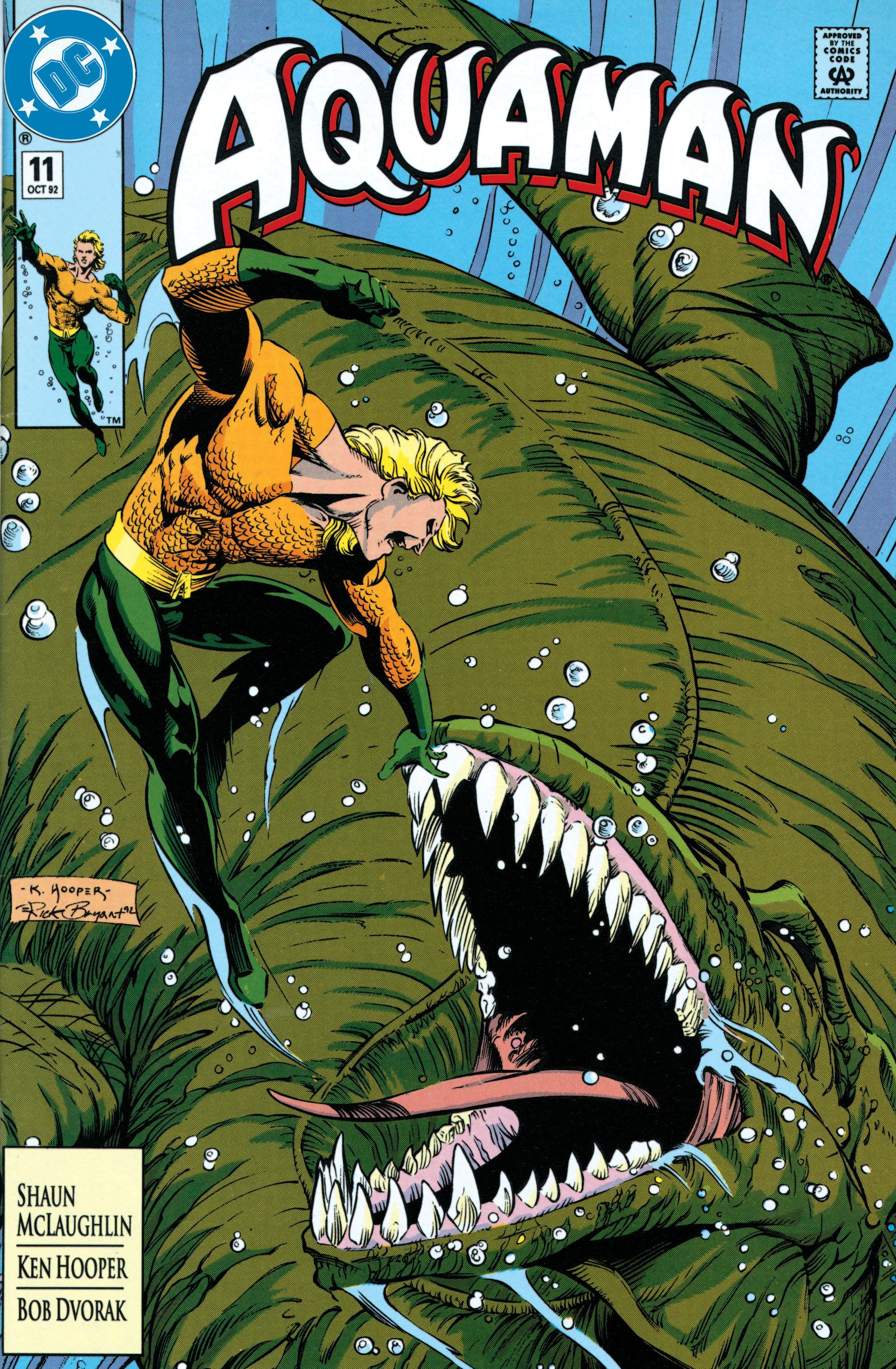 Read online Aquaman (1991) comic -  Issue #11 - 1