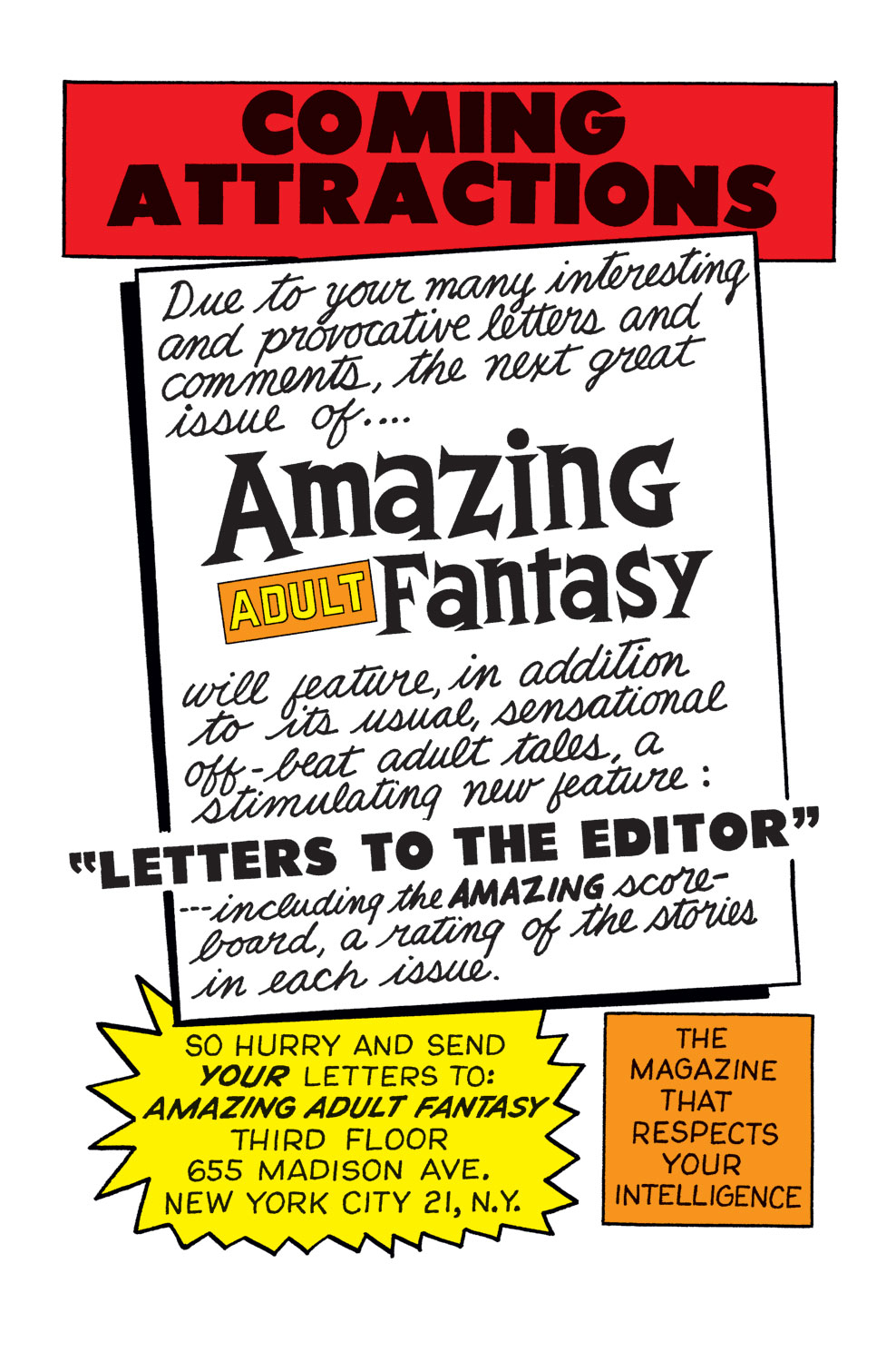 Read online Amazing Adult Fantasy comic -  Issue #11 - 21