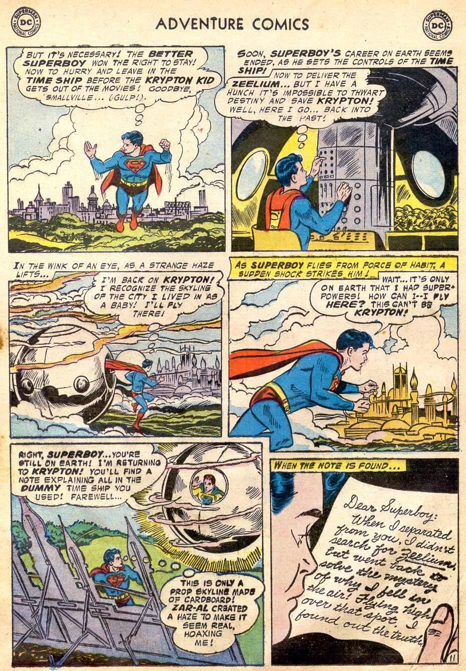 Read online Adventure Comics (1938) comic -  Issue #242 - 13