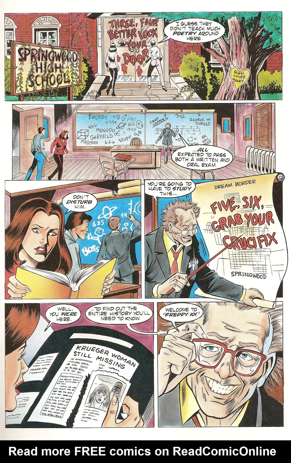 Read online Freddy's Dead: The Final Nightmare comic -  Issue #2 - 7