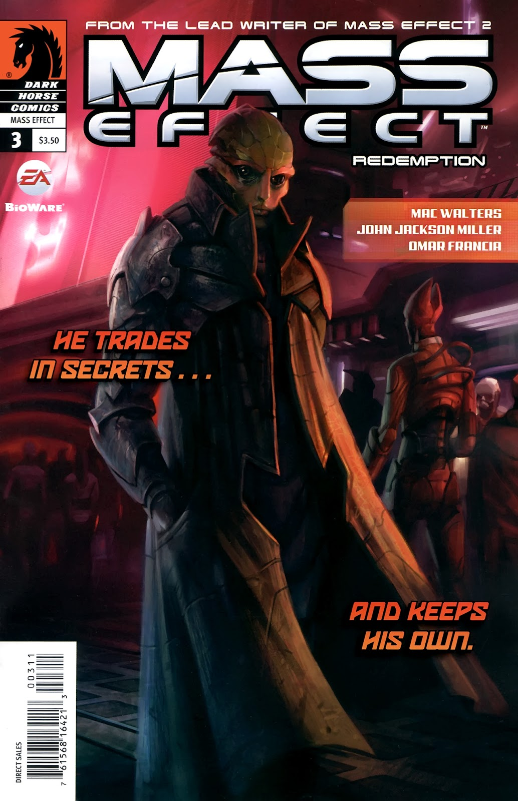 Mass Effect: Redemption Issue #3 #3 - English 1