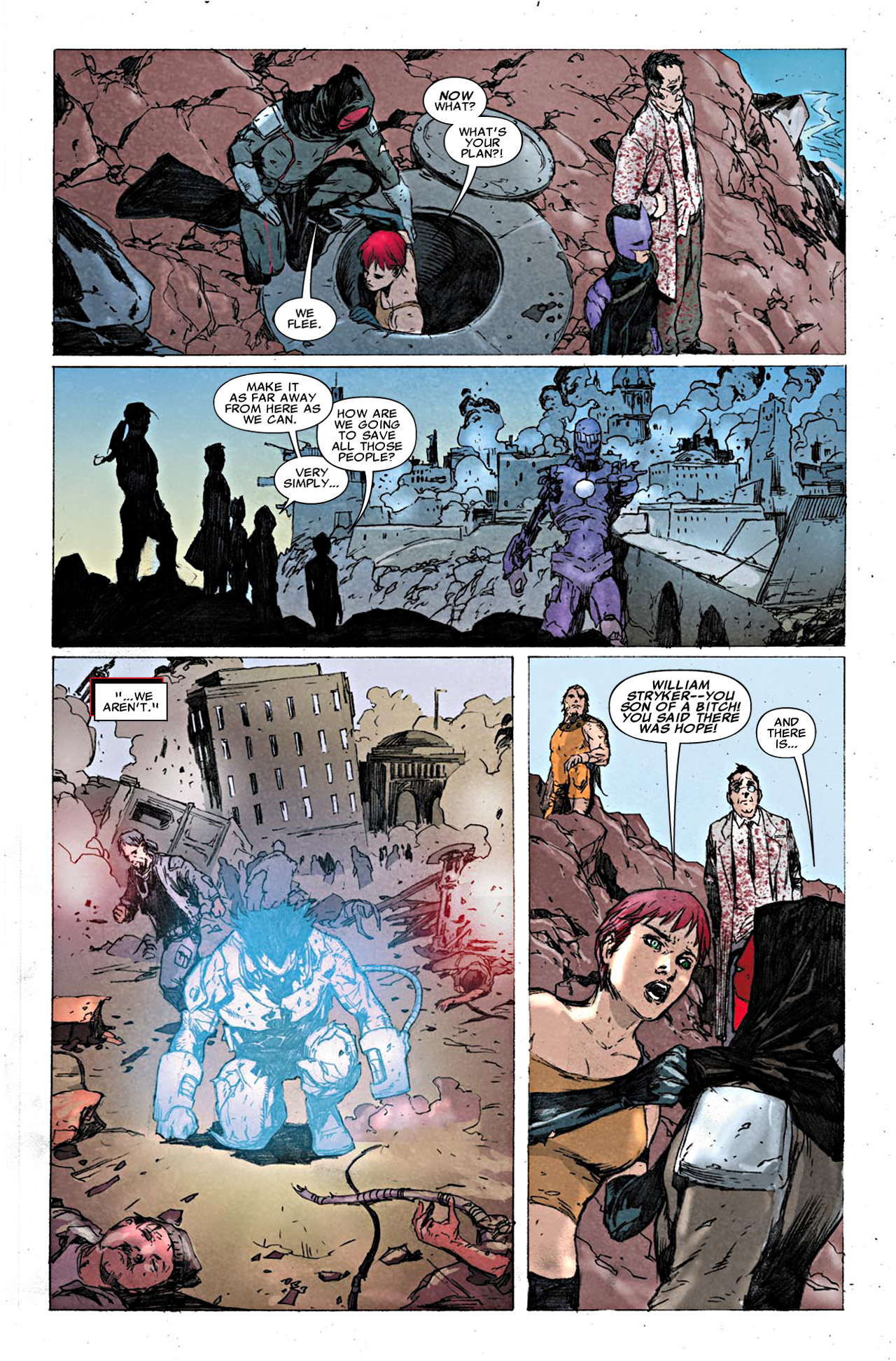 Read online Uncanny X-Force (2010) comic -  Issue #19.1 - 20