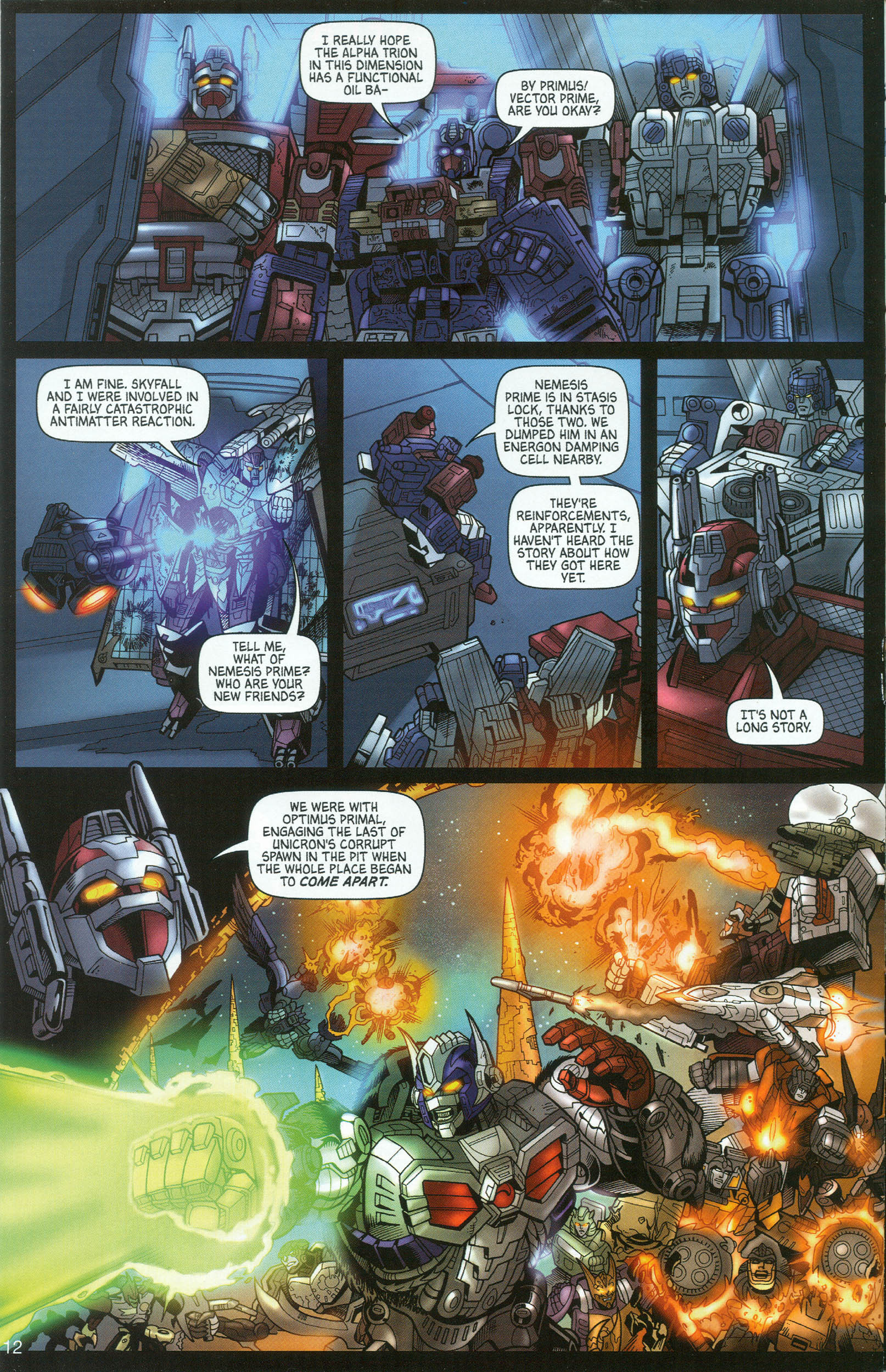 Read online Transformers: Collectors' Club comic -  Issue #8 - 12