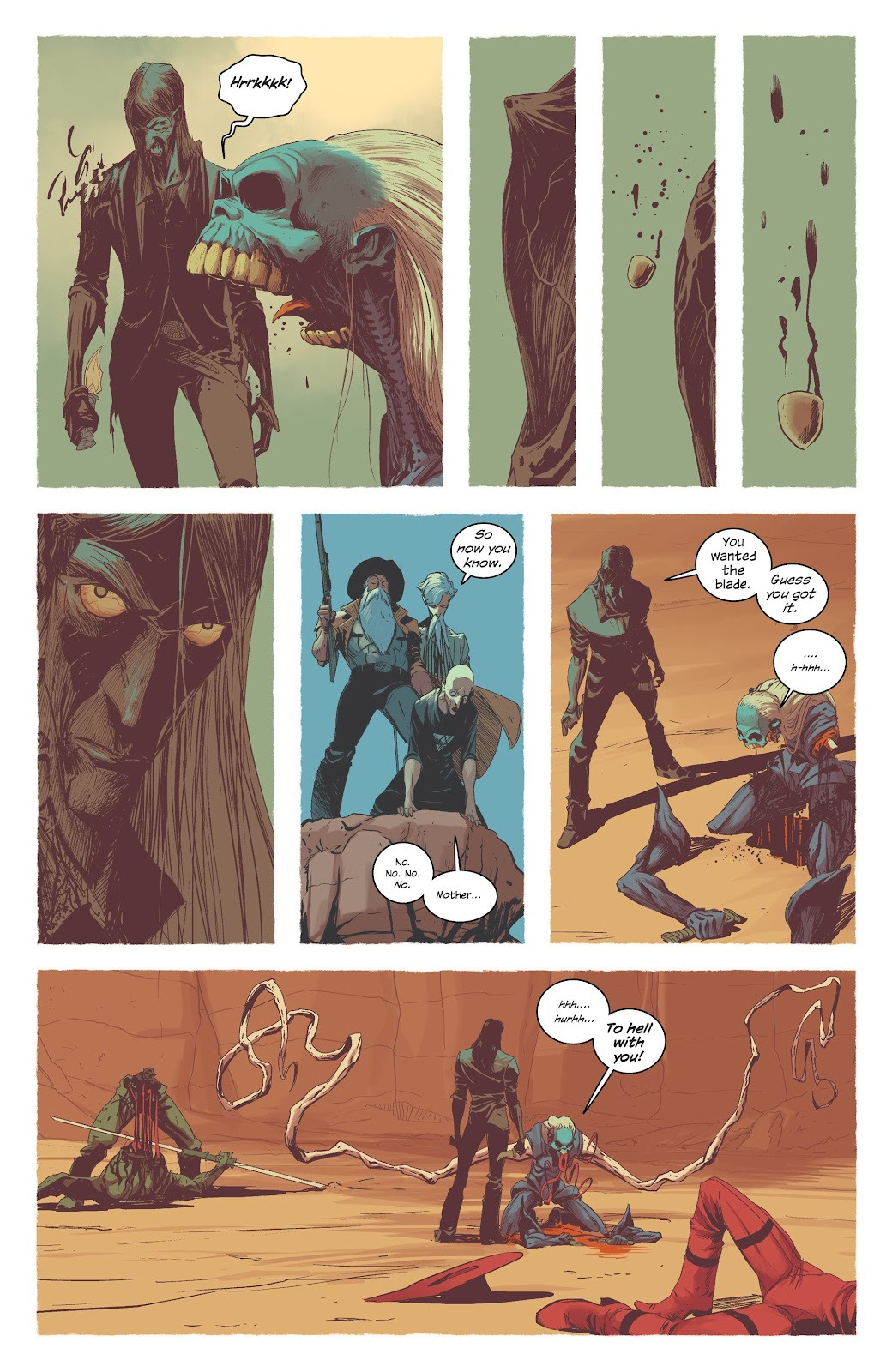 Read online East Of West comic -  Issue #42 - 16