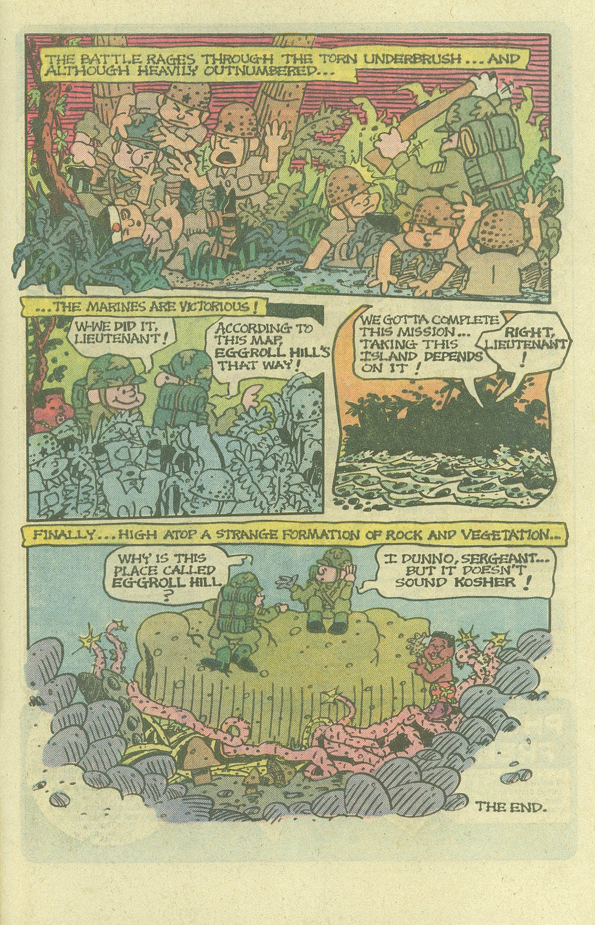 Read online Sgt. Rock comic -  Issue #400 - 32