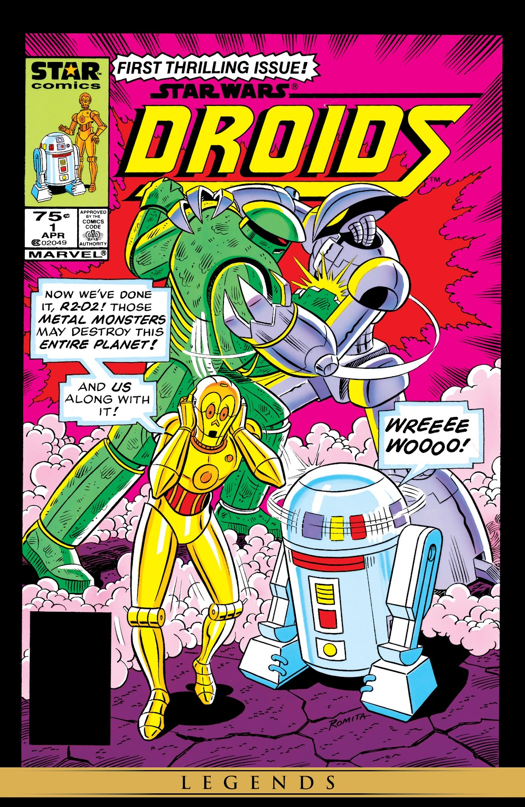 Star Wars: Droids (1986) issue 1 - Page 1