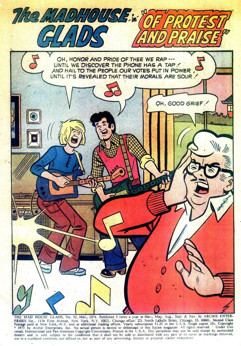 Read online The Mad House Glads comic -  Issue #92 - 3