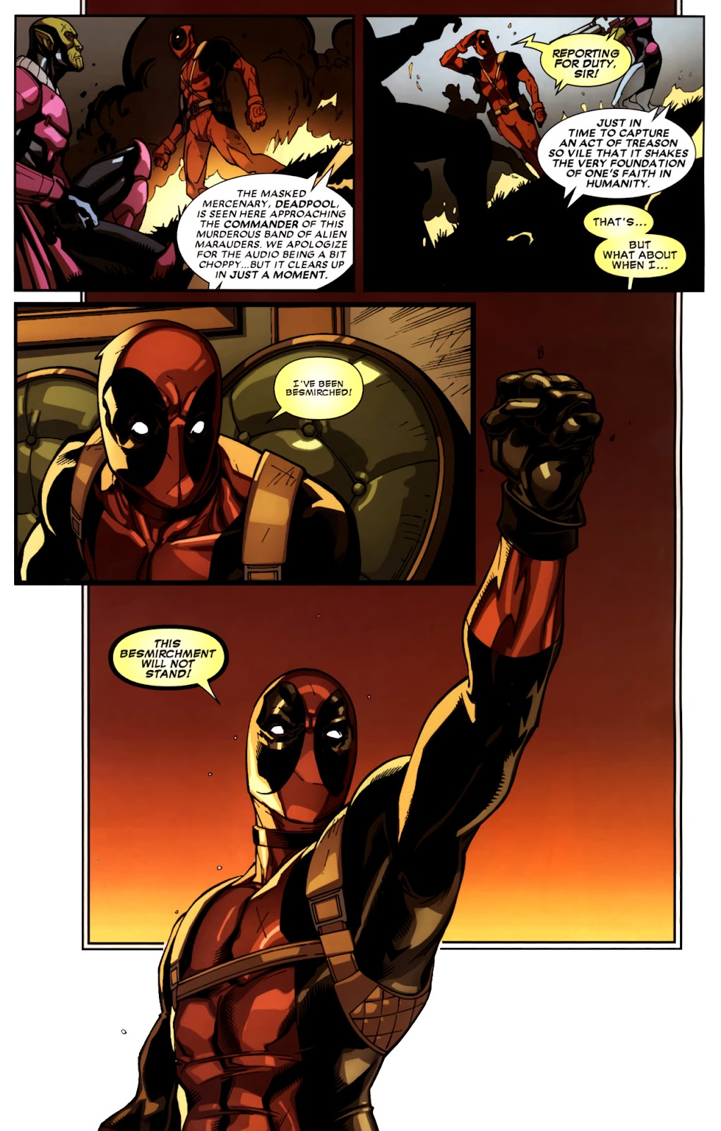Read online Deadpool (2008) comic -  Issue #10 - 16