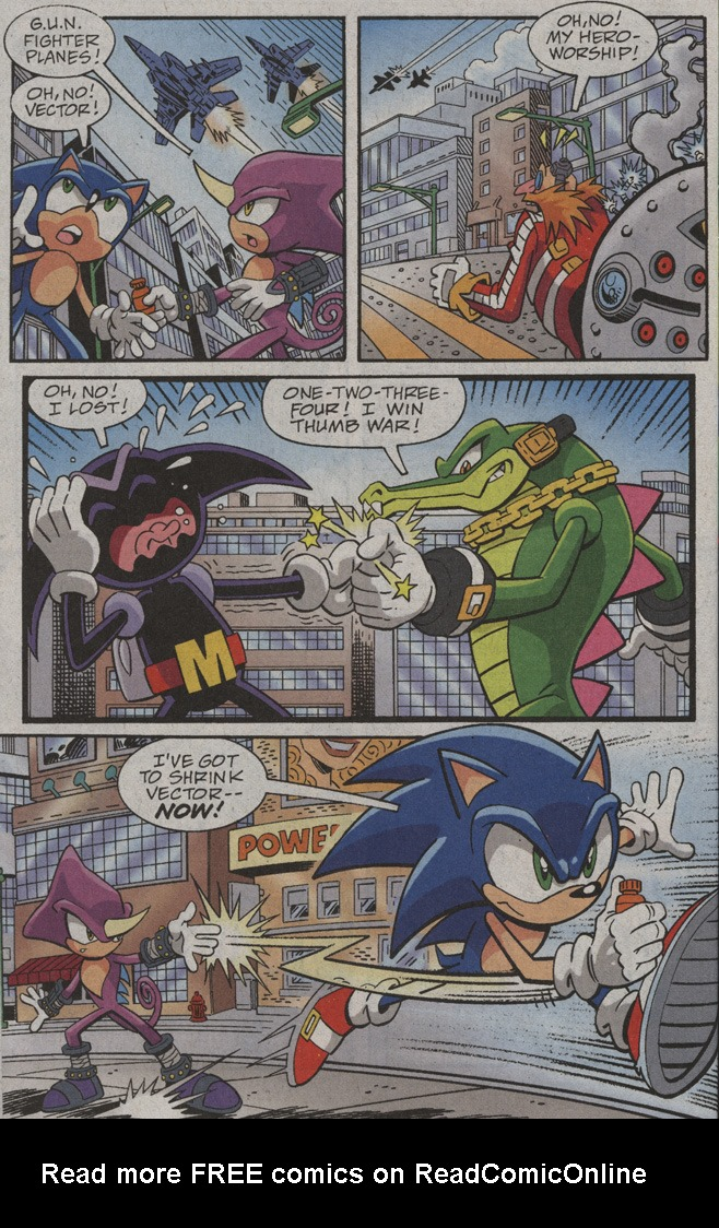 Read online Sonic X comic -  Issue #39 - 24