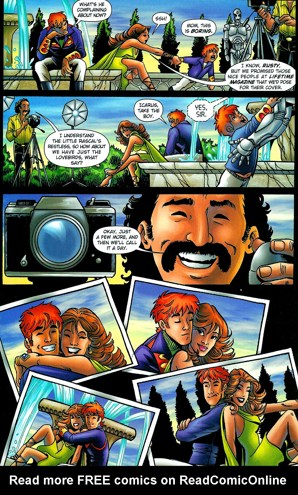 Read online Noble Causes (2002) comic -  Issue #1 - 21