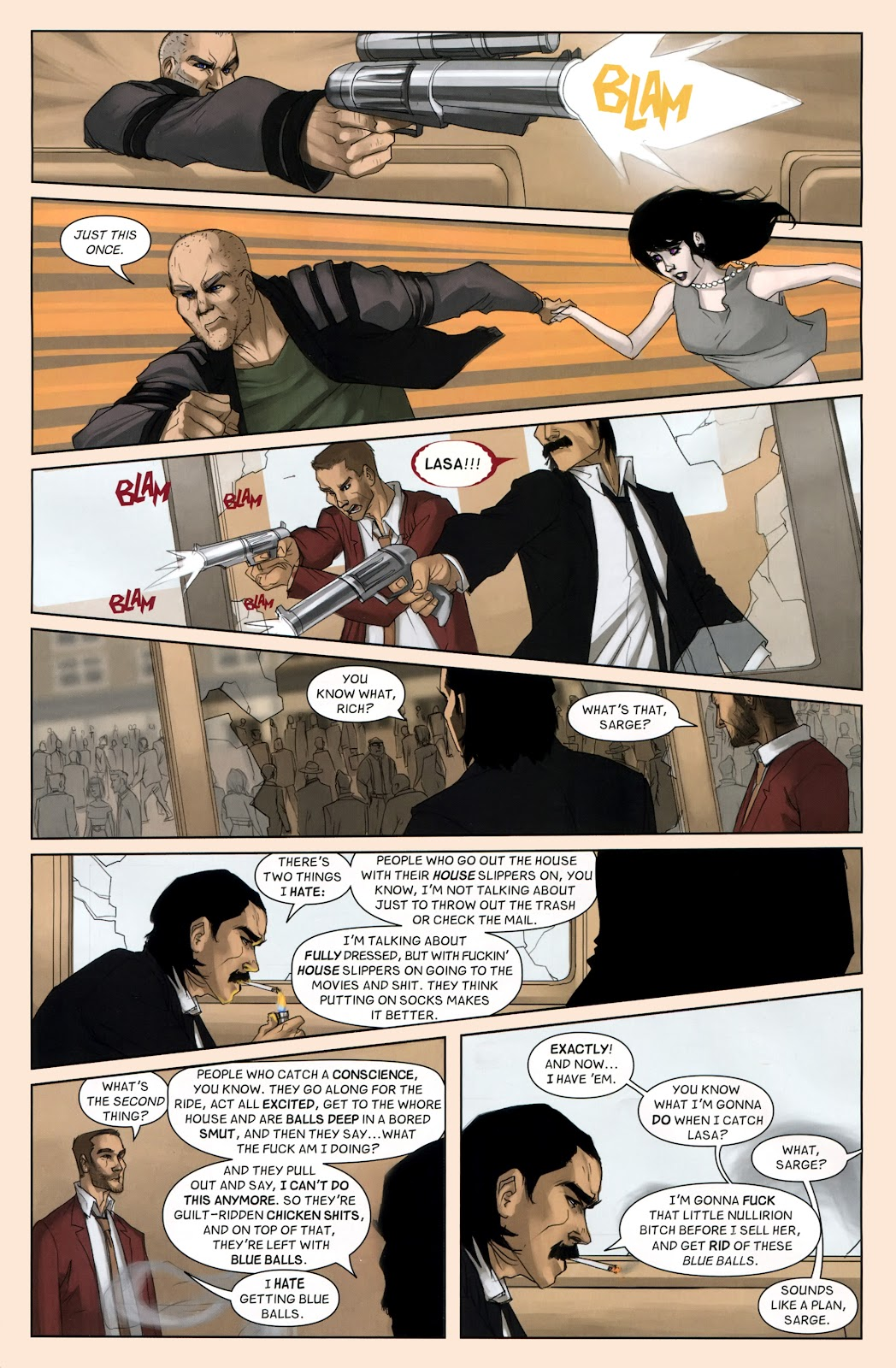 Read online Vescell comic -  Issue #7 - 9