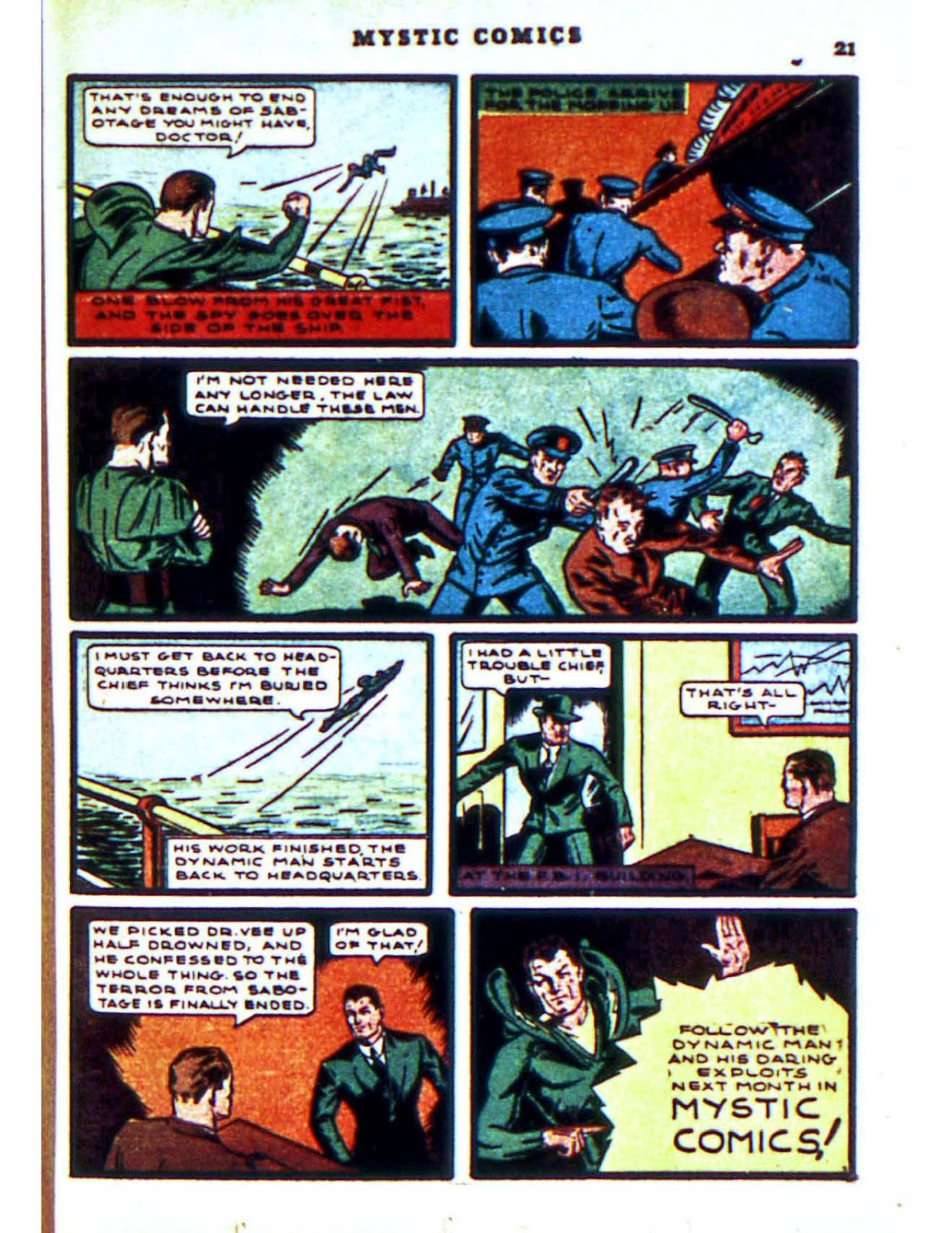 Mystic Comics (1940) issue 2 - Page 23