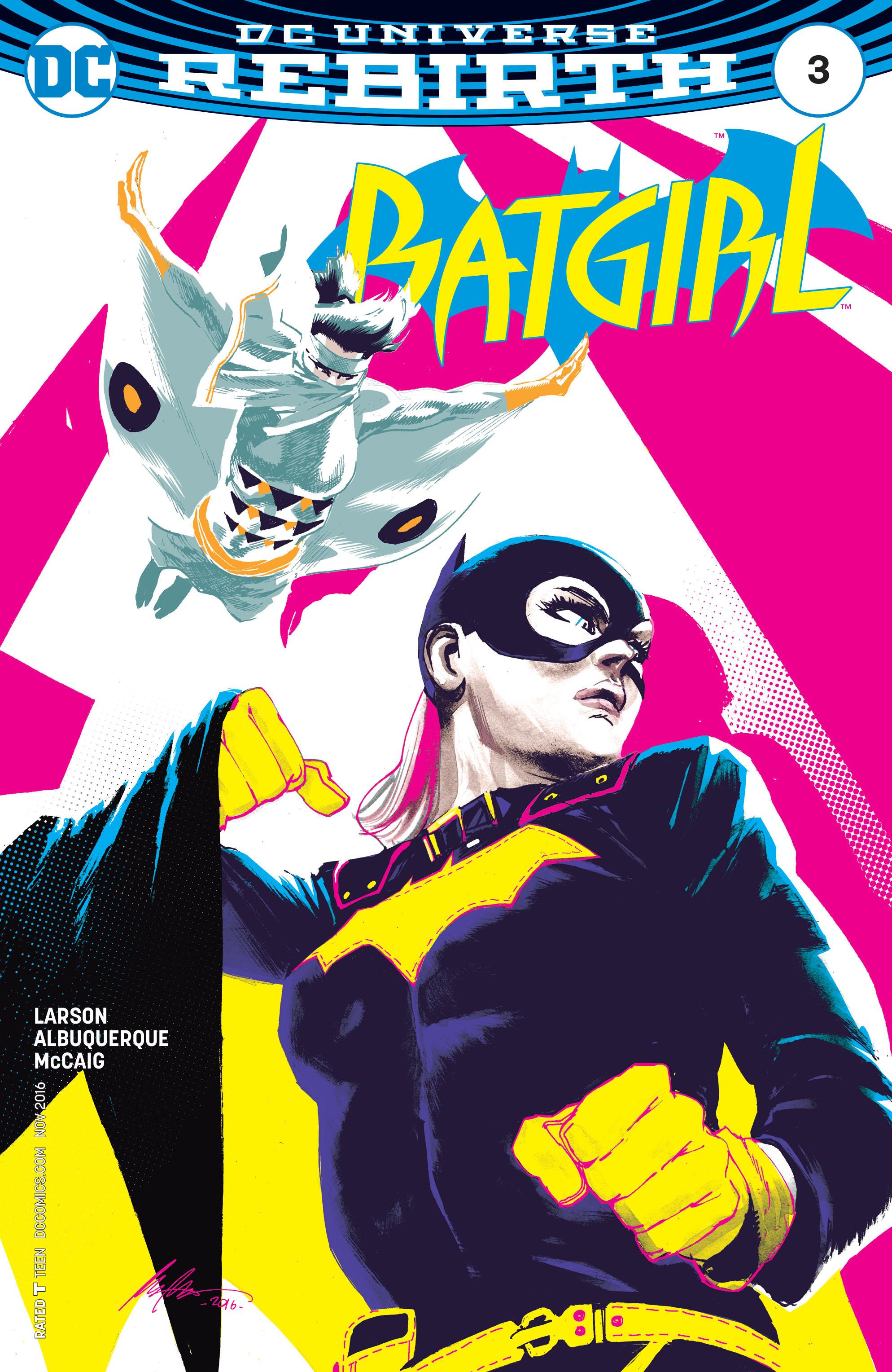 Batgirl (2016) 3 Page 1