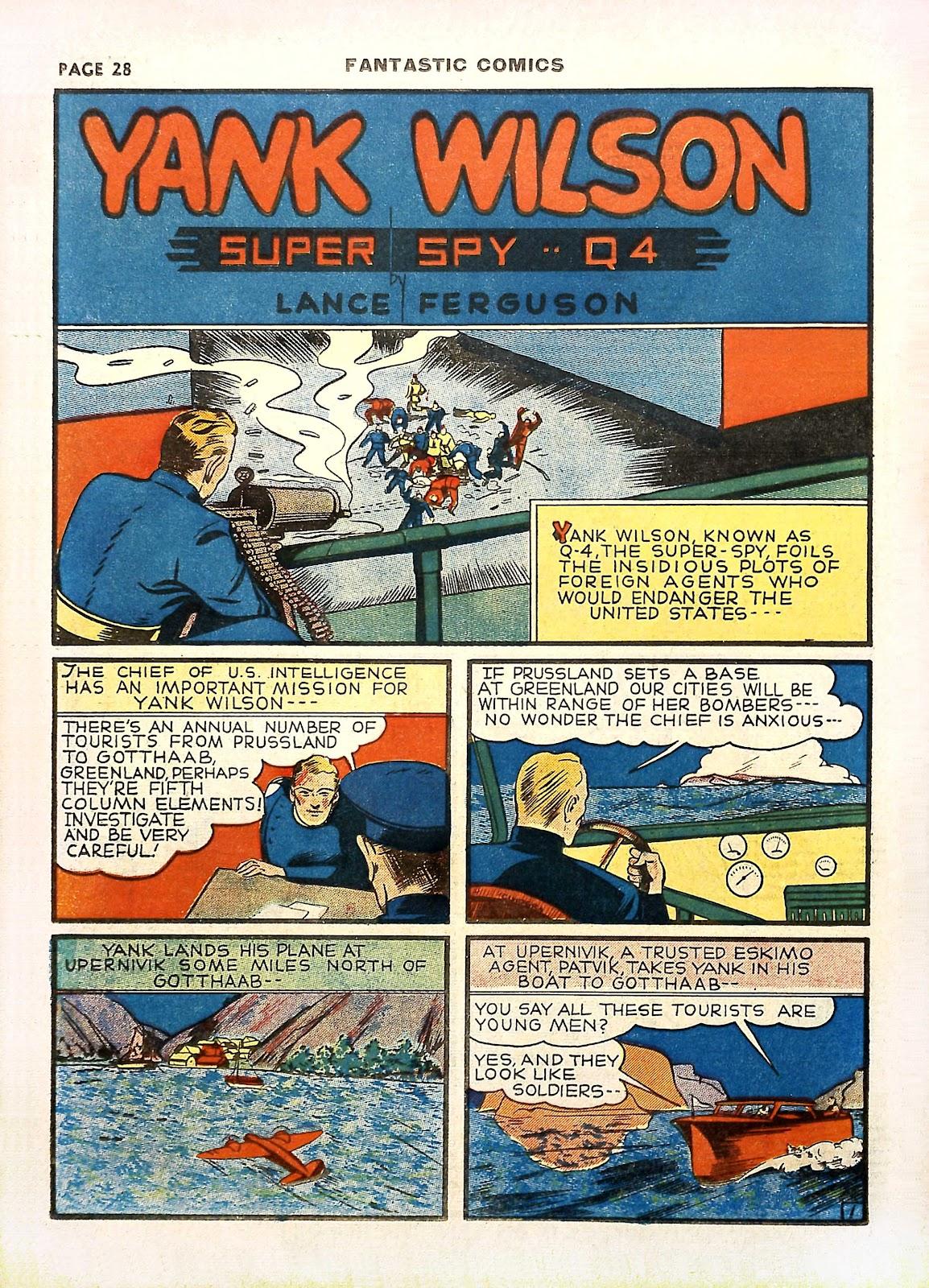 Read online Fantastic Comics comic -  Issue #11 - 31