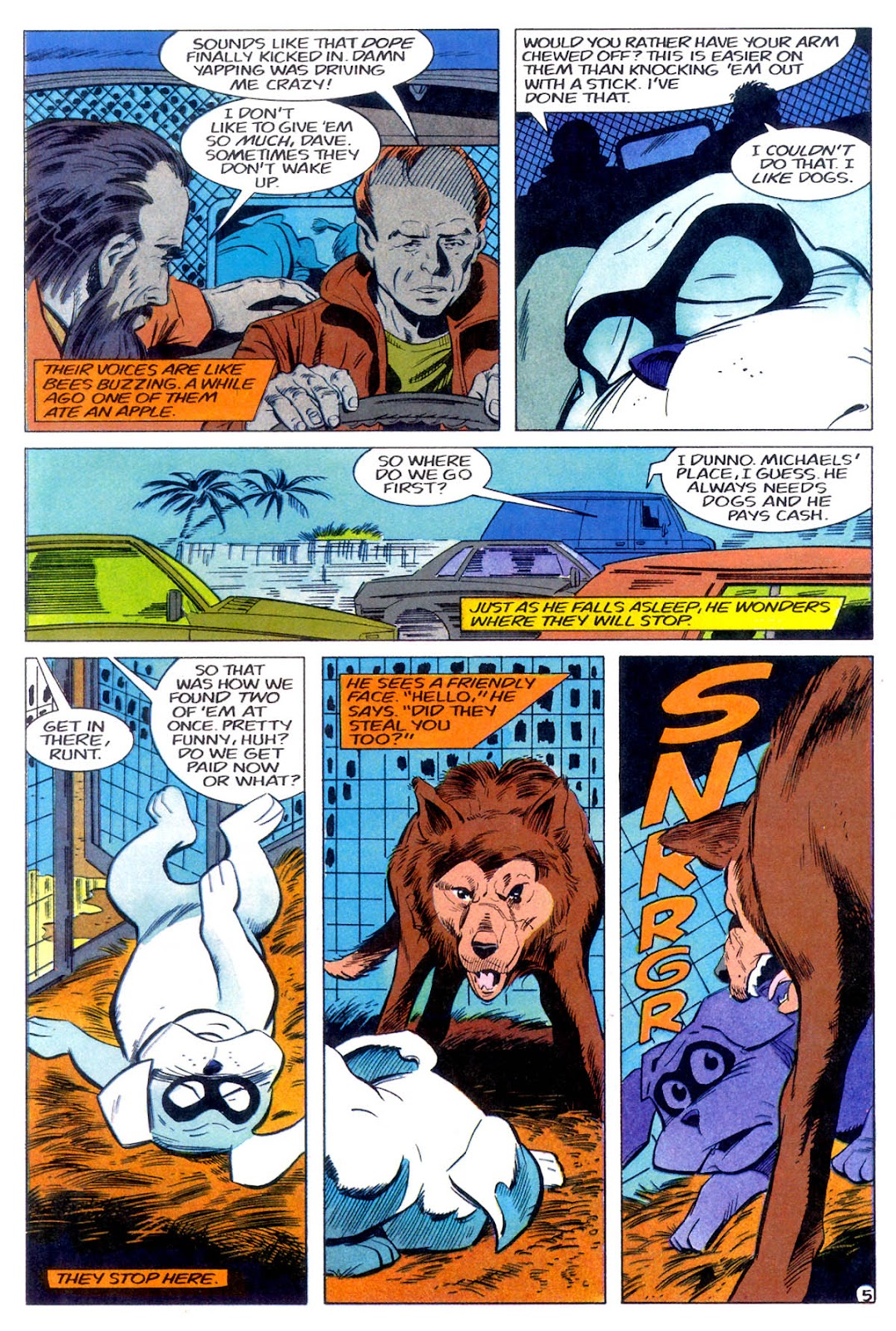 Jonny Quest (1986) issue 11 - Page 8
