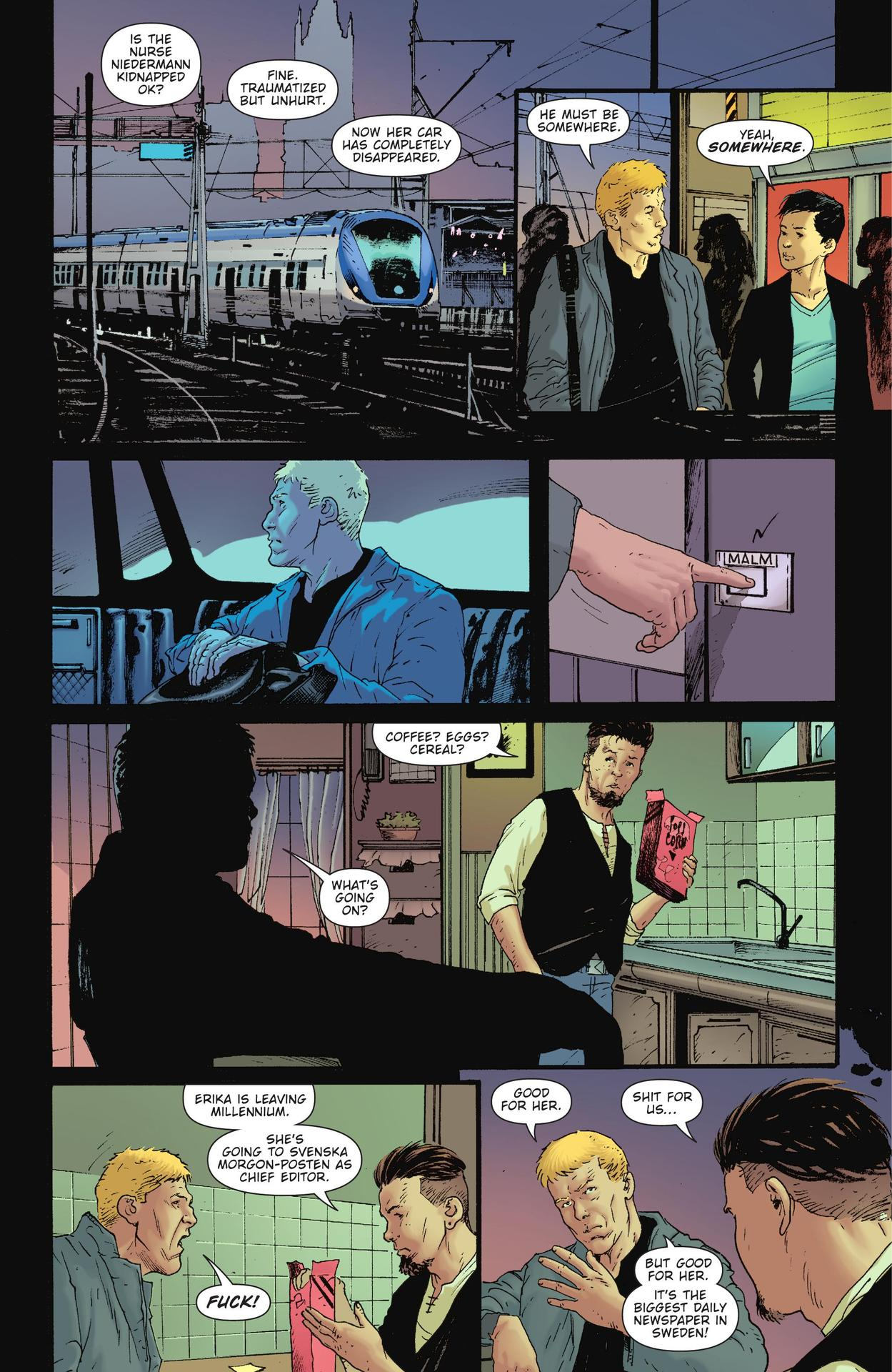 Read online The Girl Who Kicked The Hornet's Nest comic -  Issue # TPB - 43