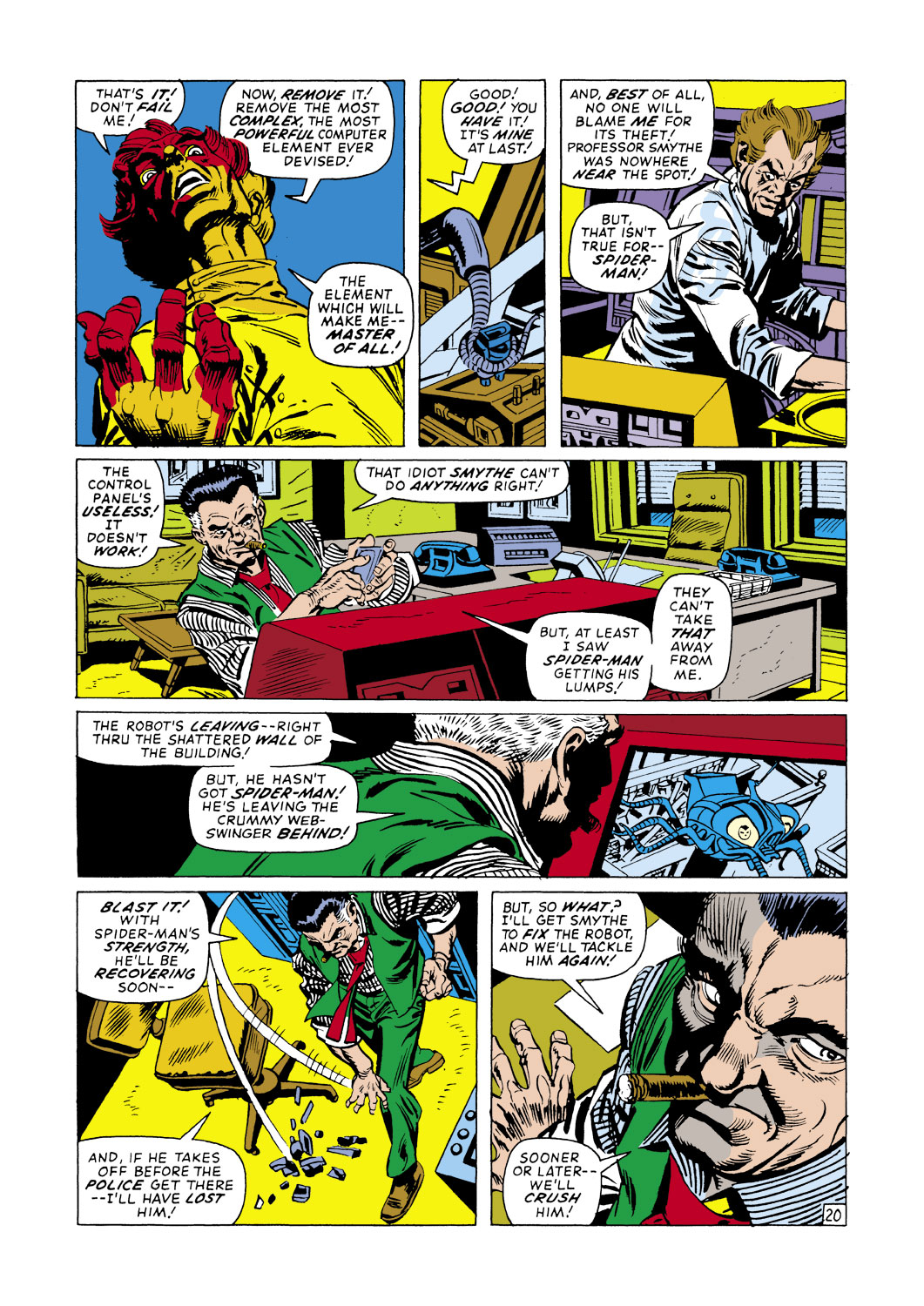 The Amazing Spider-Man (1963) 105 Page 20