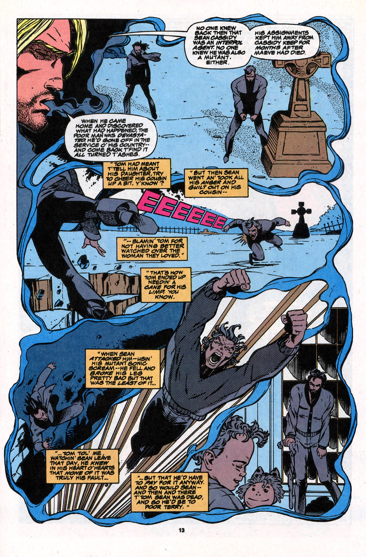 Read online X-Force (1991) comic -  Issue #31 - 14