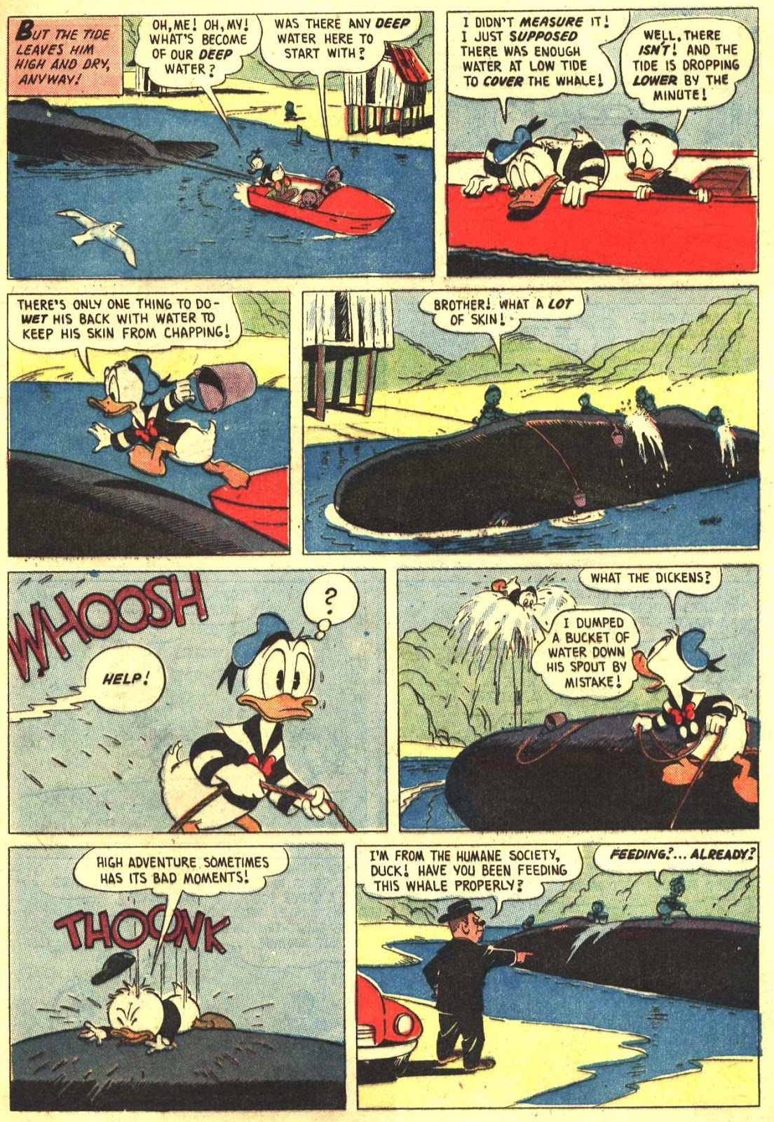 Walt Disney's Comics and Stories issue 193 - Page 9