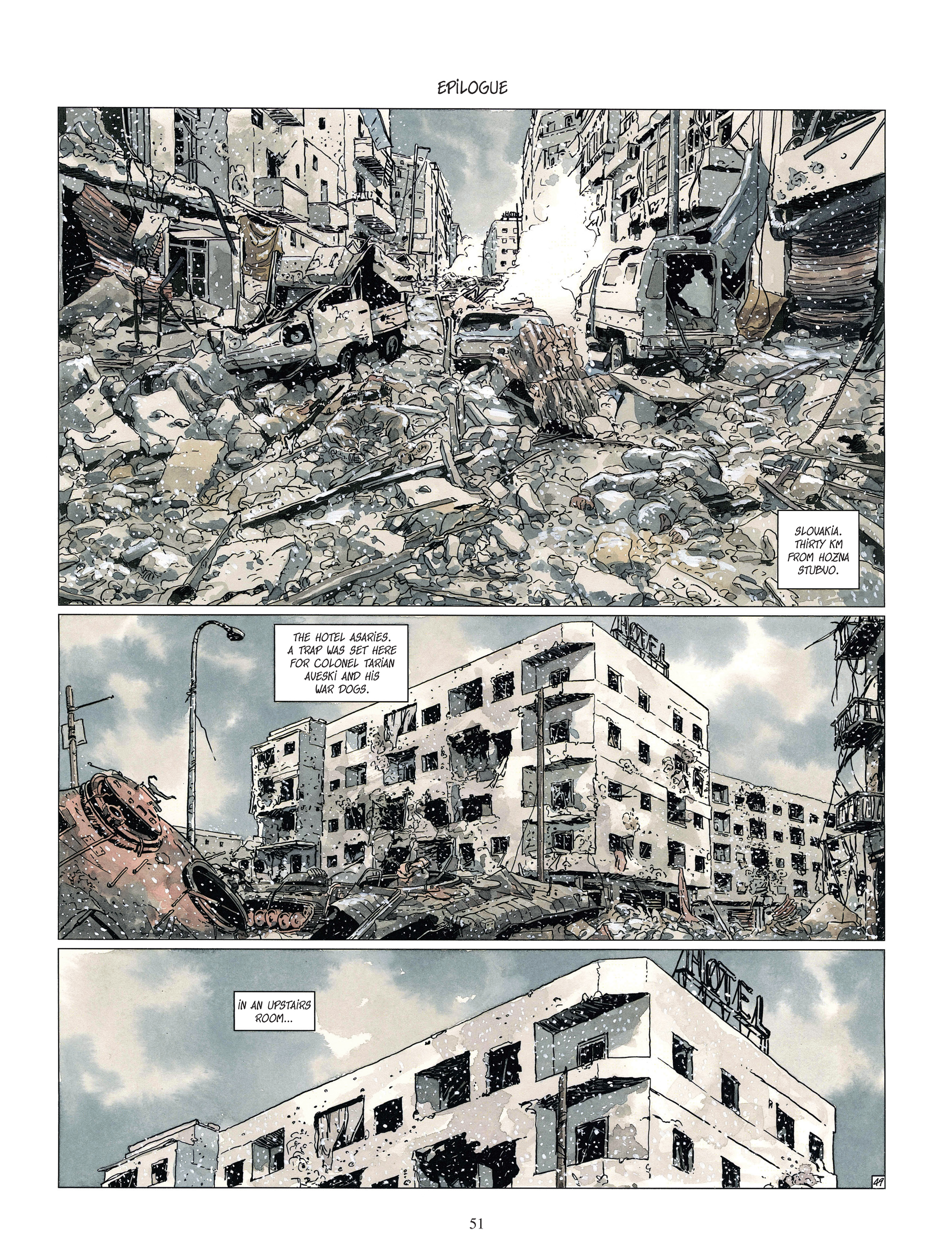 Read online Djinn comic -  Issue #13 - 52
