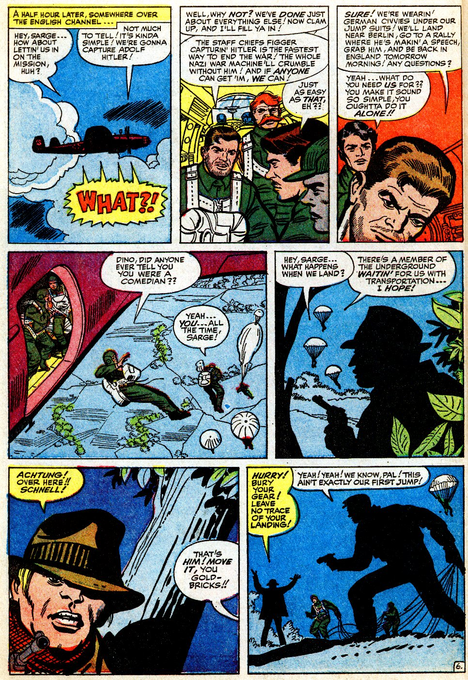 Read online Sgt. Fury comic -  Issue #9 - 10