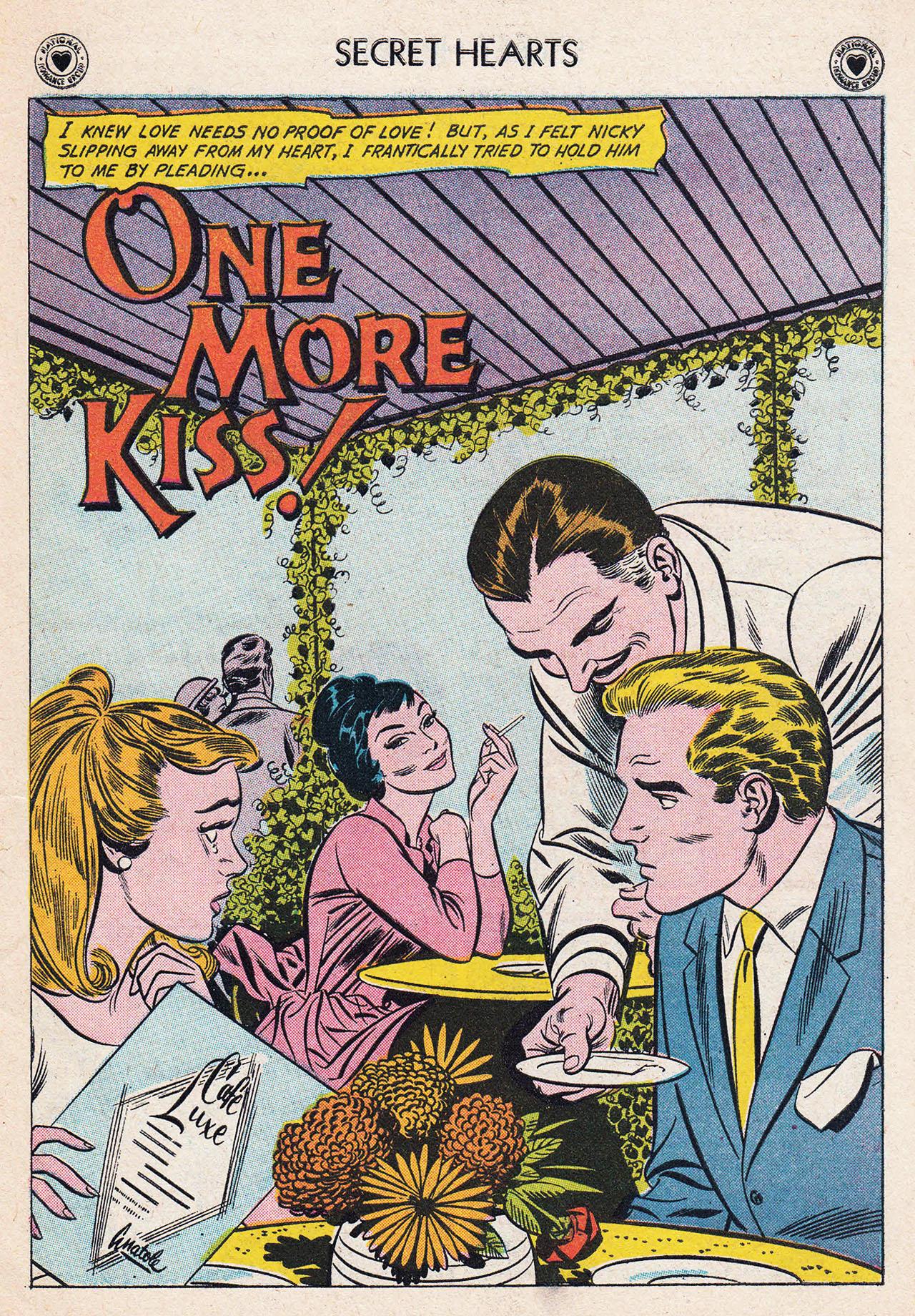 Read online Secret Hearts comic -  Issue #75 - 27