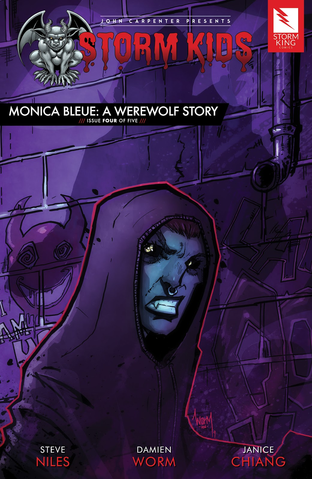 John Carpenter Presents Storm Kids: Monica Bleue: A Werewolf Story issue 4 - Page 1
