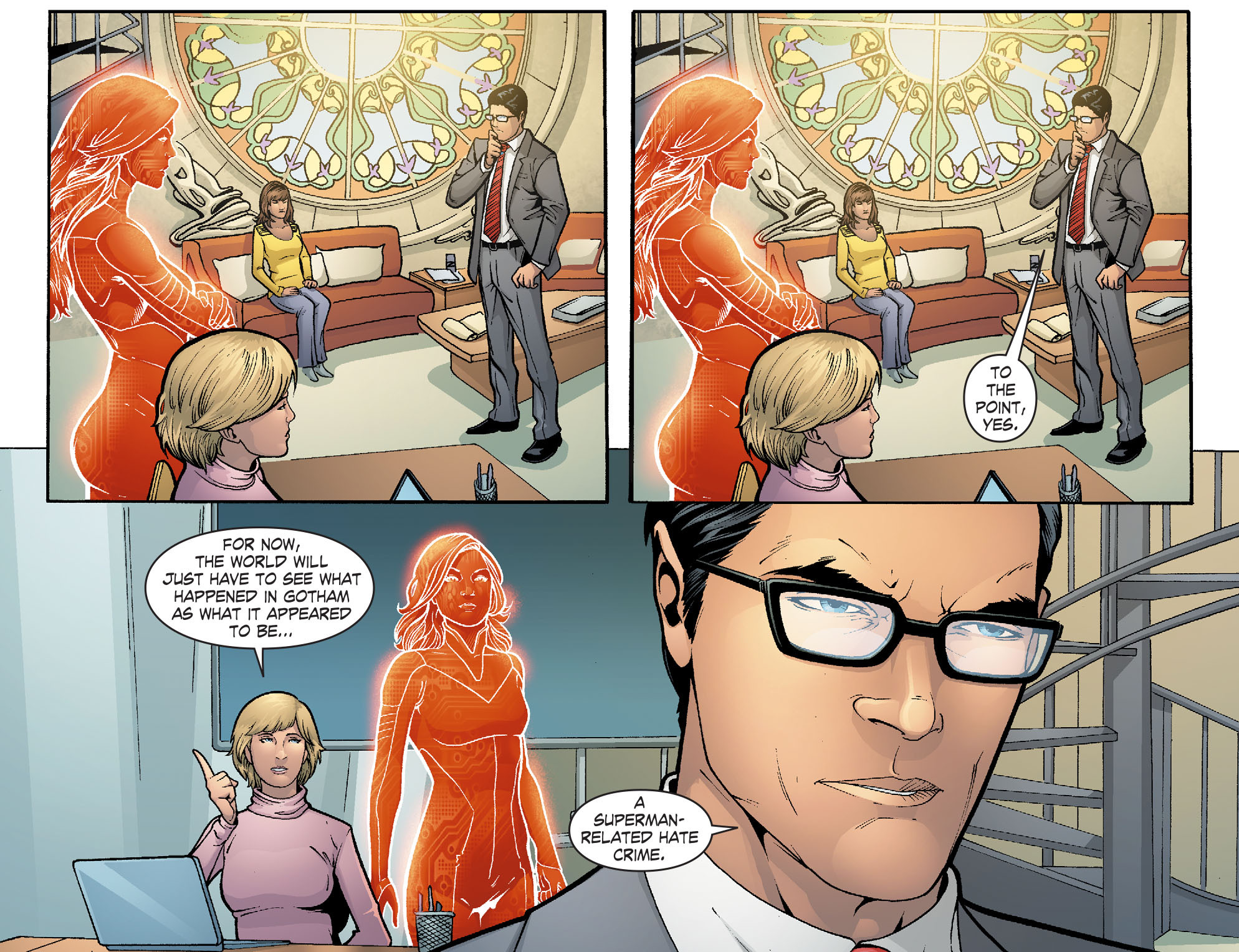 Read online Smallville: Alien comic -  Issue #12 - 12