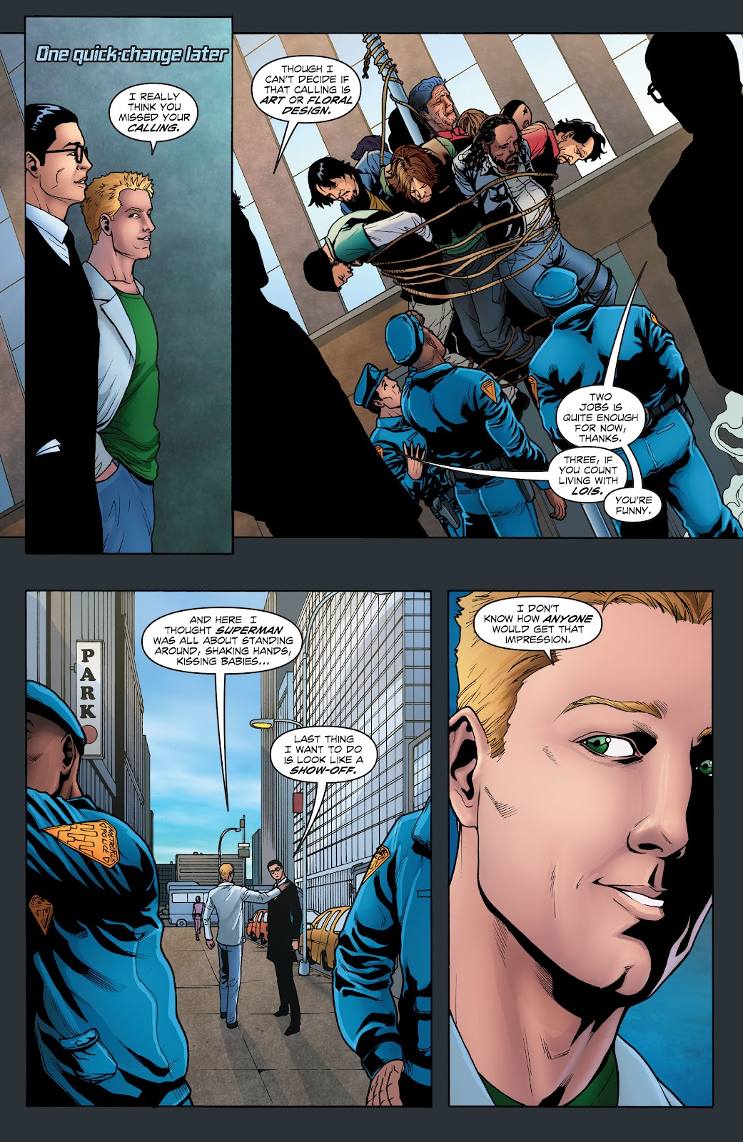 Read online Smallville Season 11 [II] comic -  Issue # TPB 1 - 32