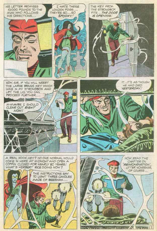 Read online Beyond the Grave (1983) comic -  Issue #14 - 3