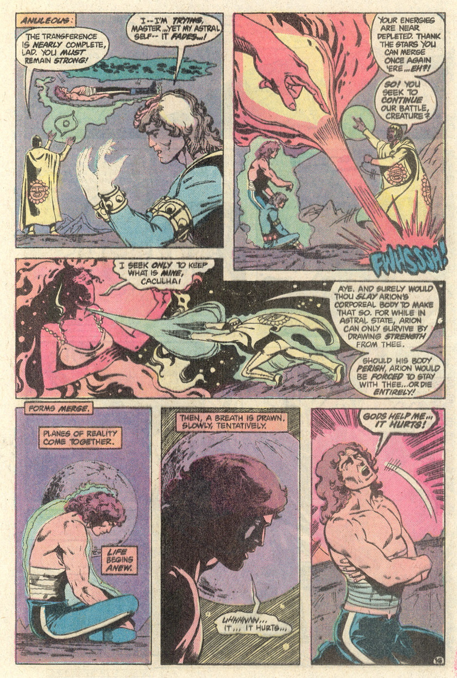 Read online Arion, Lord of Atlantis comic -  Issue #1 - 16